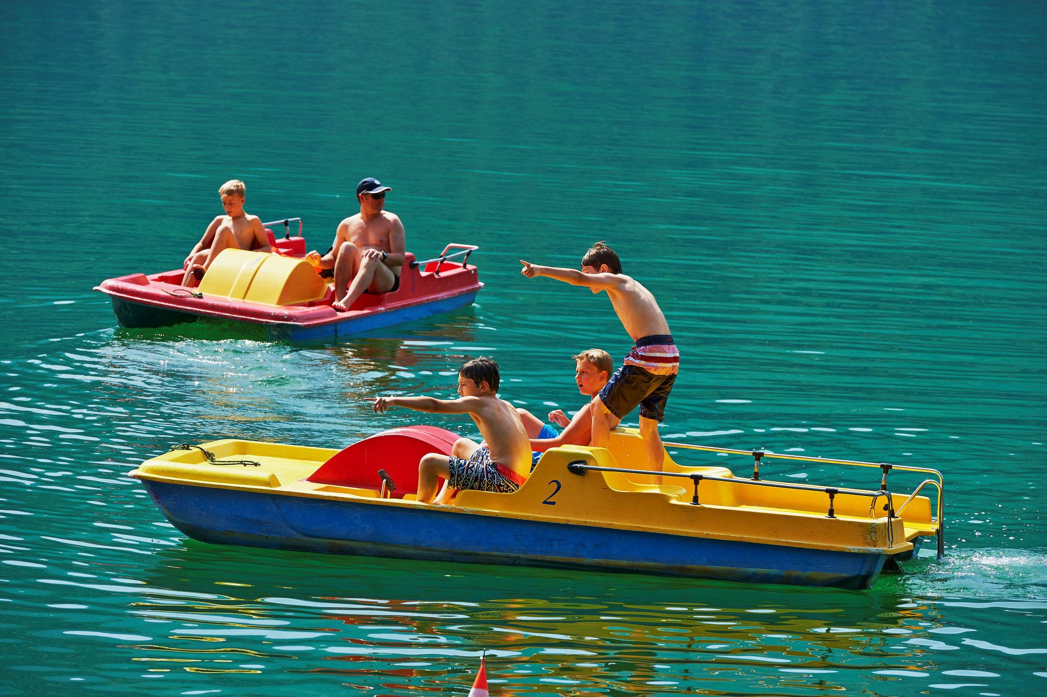Pedal boat » Parco San Marco