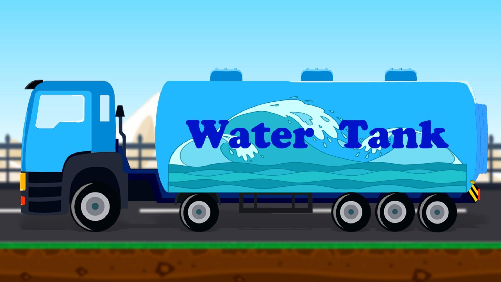 Tank Truck | Water Tank | Tanker Truck - YouTube