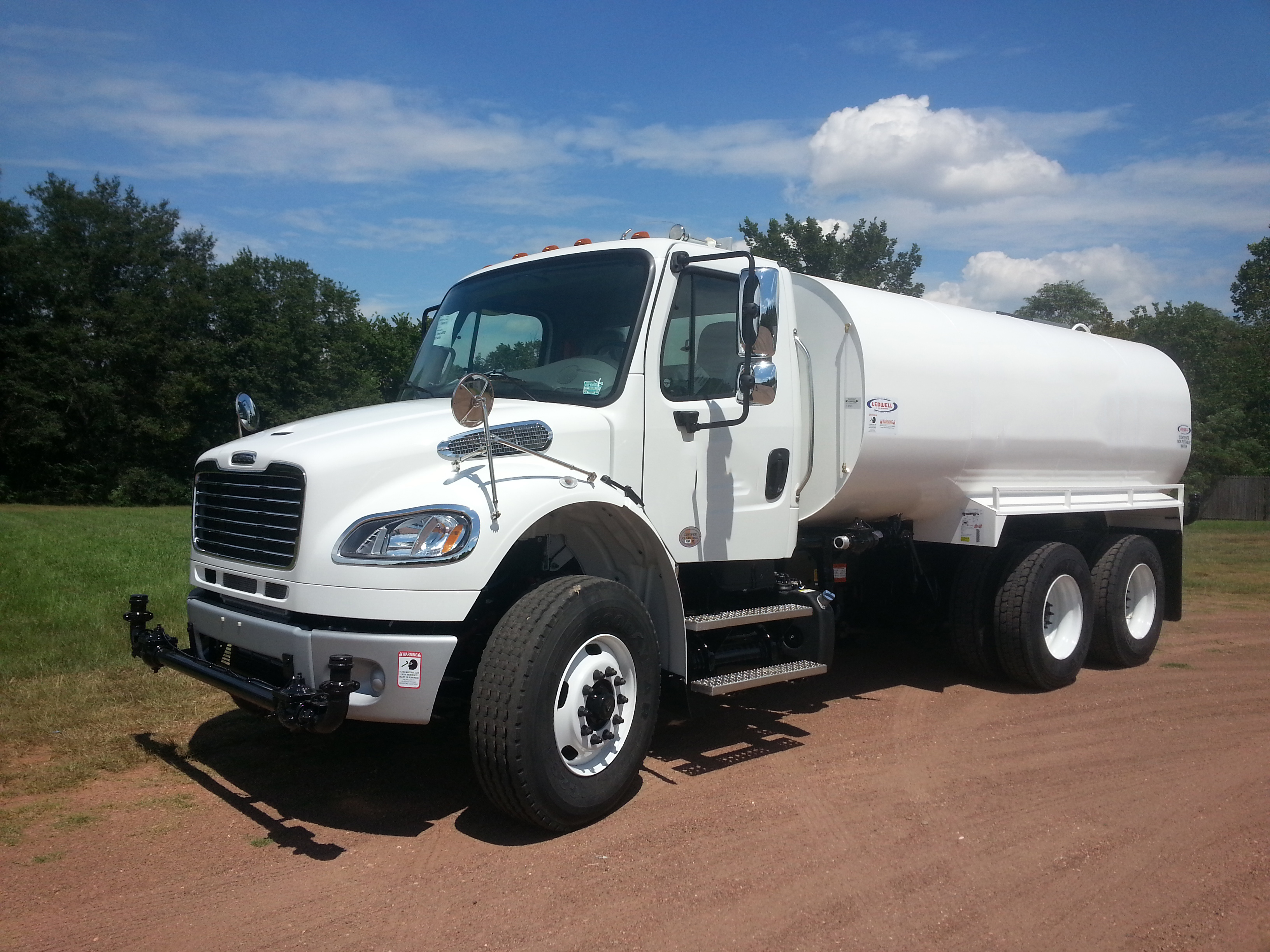 4000 Gallon Water Tank - ledwell