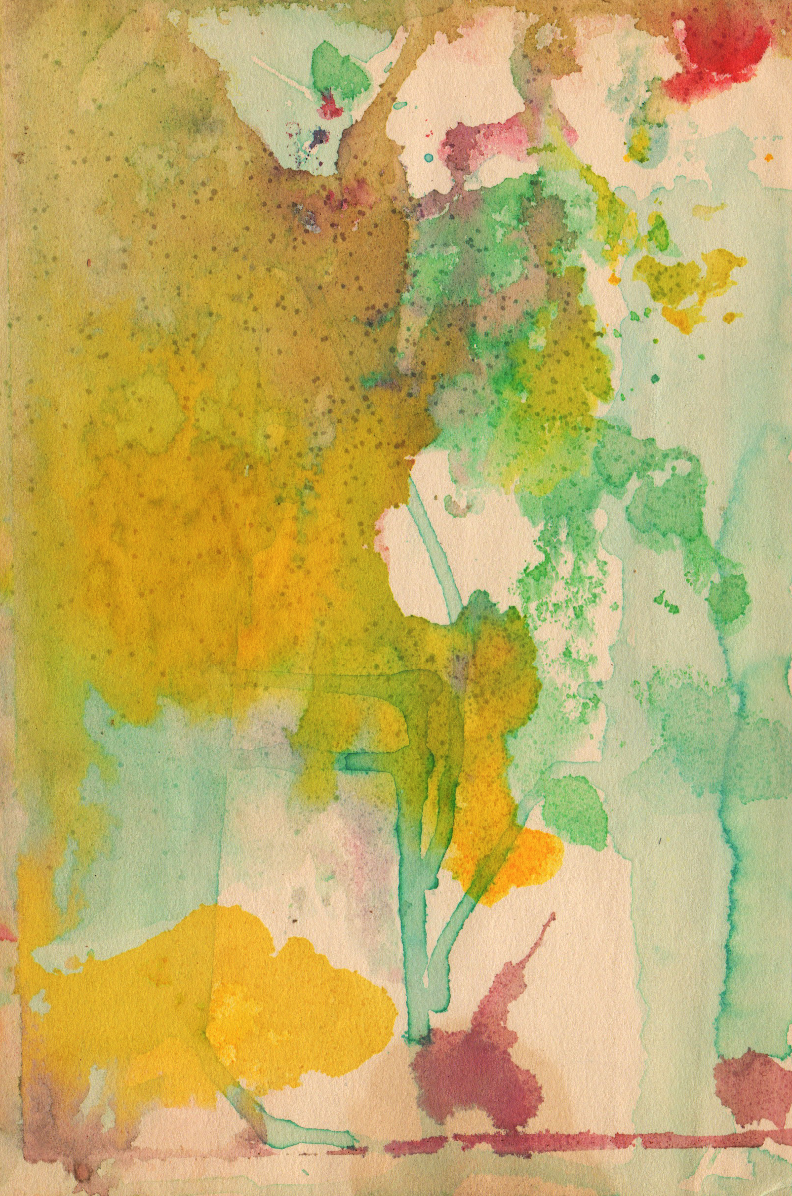 Watercolor Paper Texture, Abstract, Colorful, Painted, Paper, HQ Photo