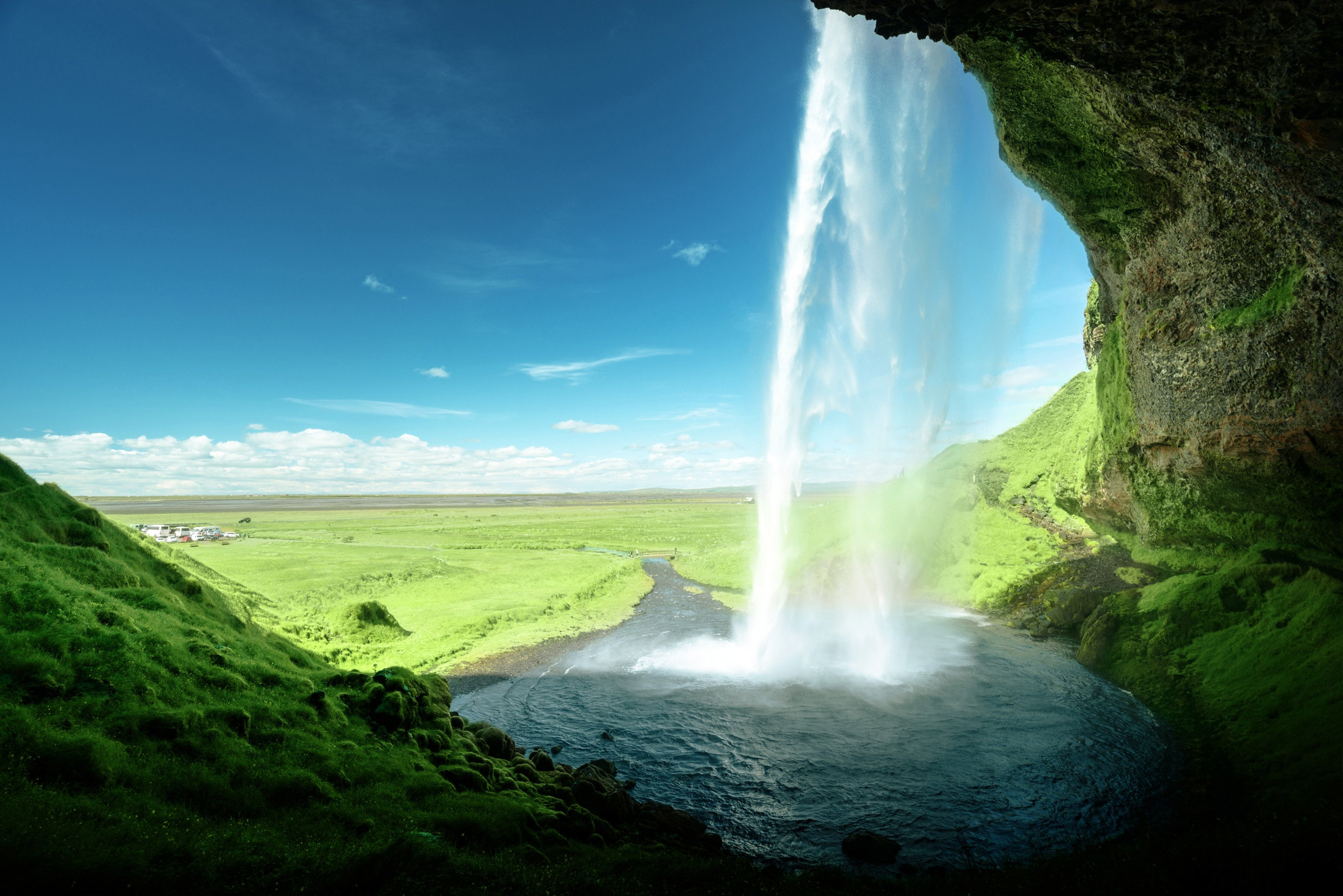 free photo waterfall water forest free download jooinn