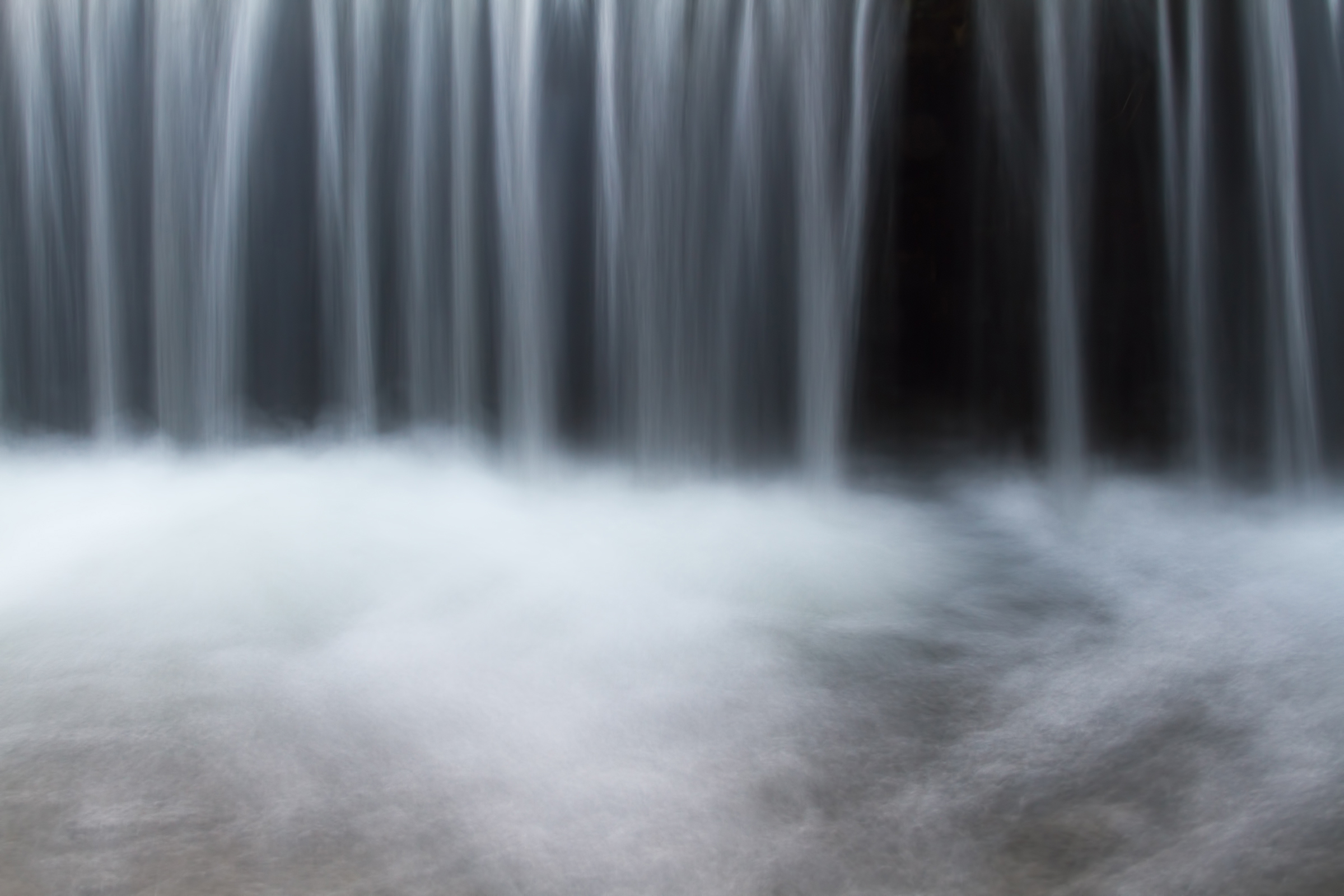 Waterfall, Blue, Serene, Rain, Rapid, HQ Photo