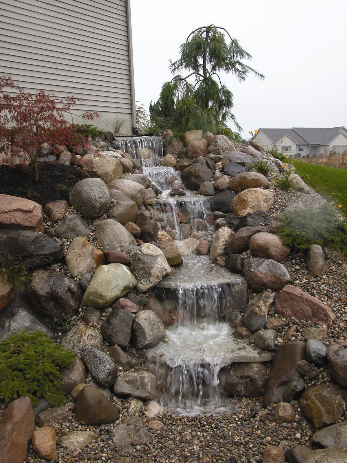 Pondless waterfalls, pondless waterfalls kits, pondless waterfall ...