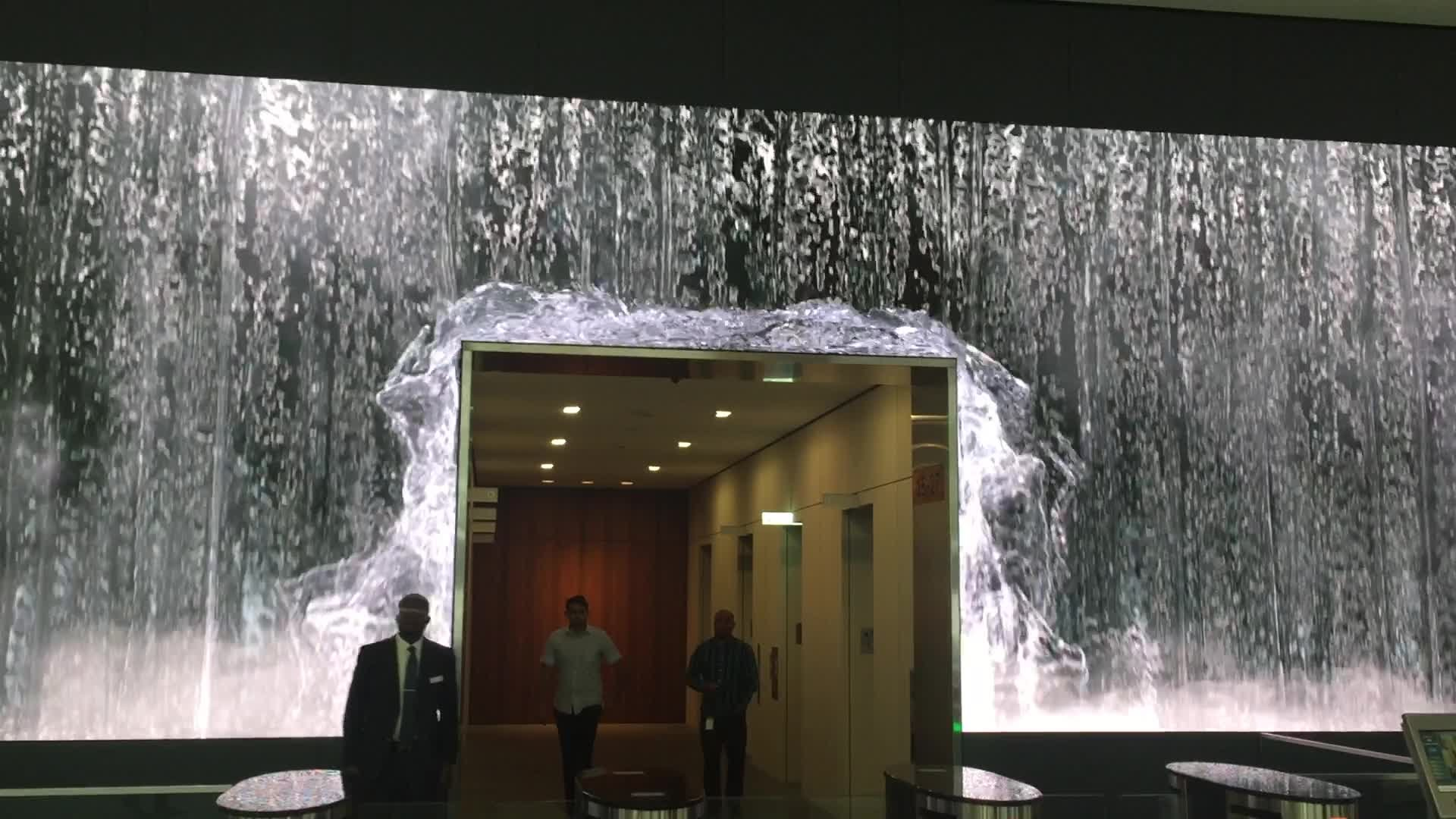 Salesforce Unveils Amazing Lobby Video Wall Display At SF ...