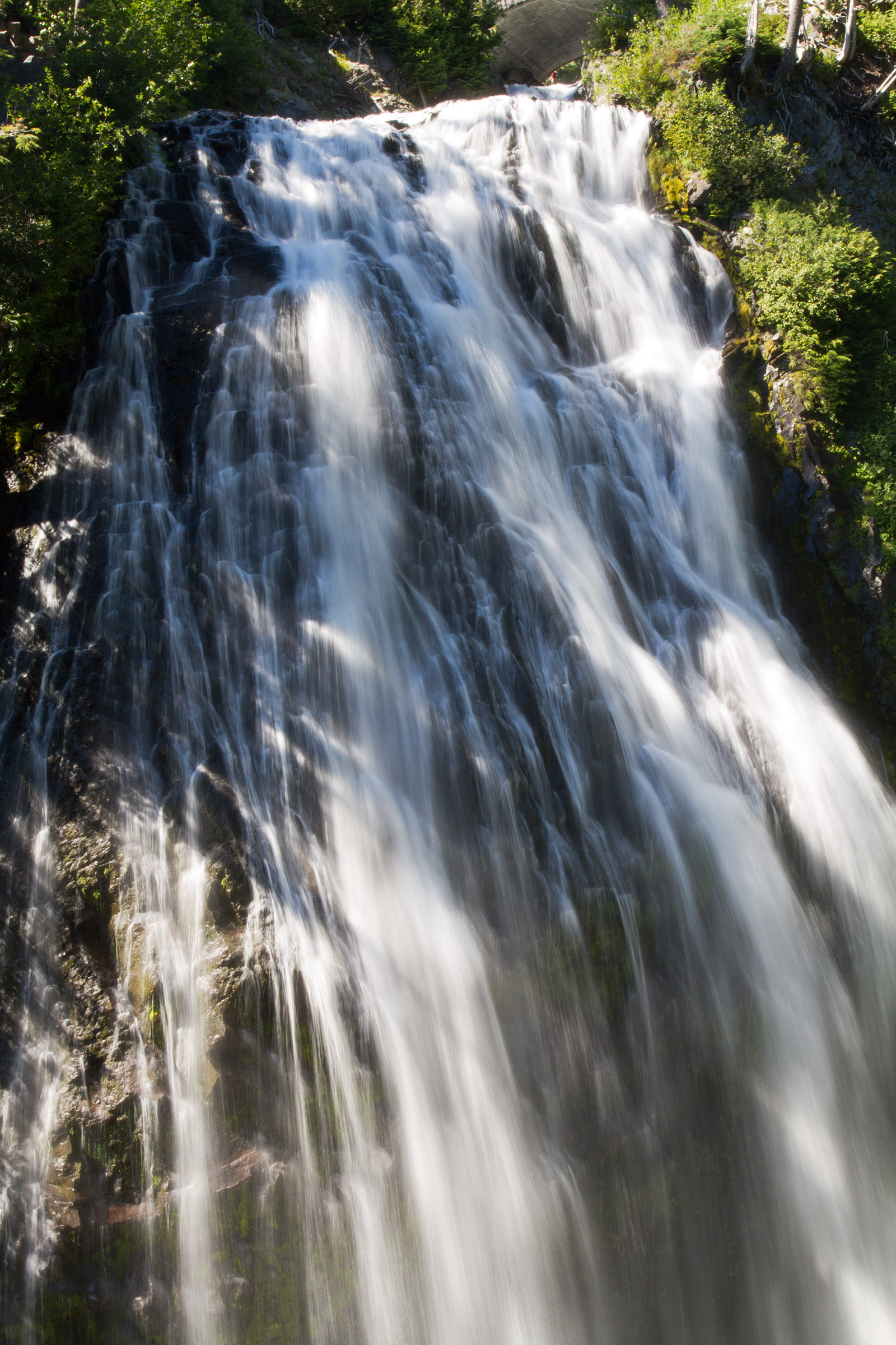 Waterfalls in mount rainer national park photo