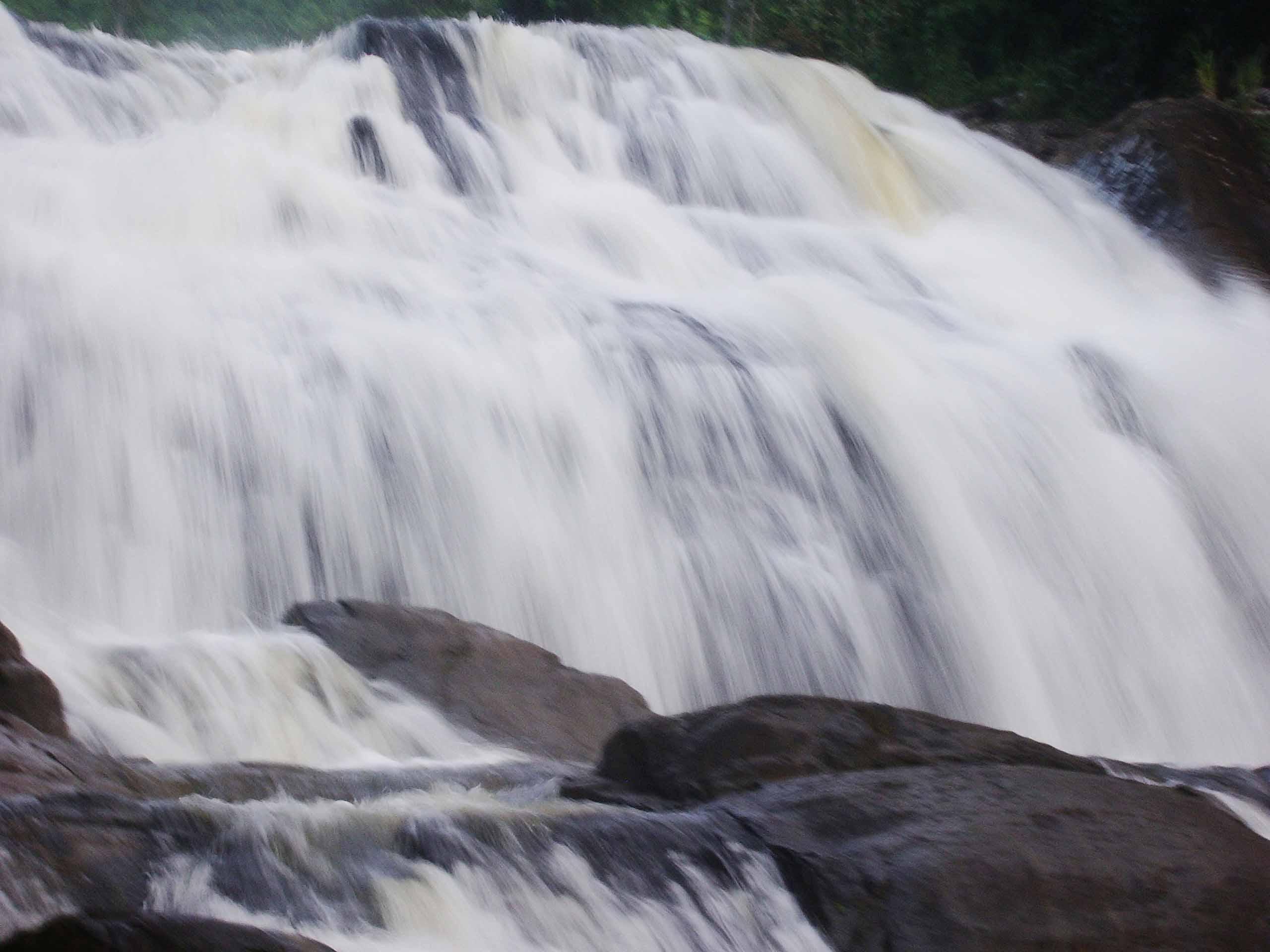 Waterfalls in sri lanka photo