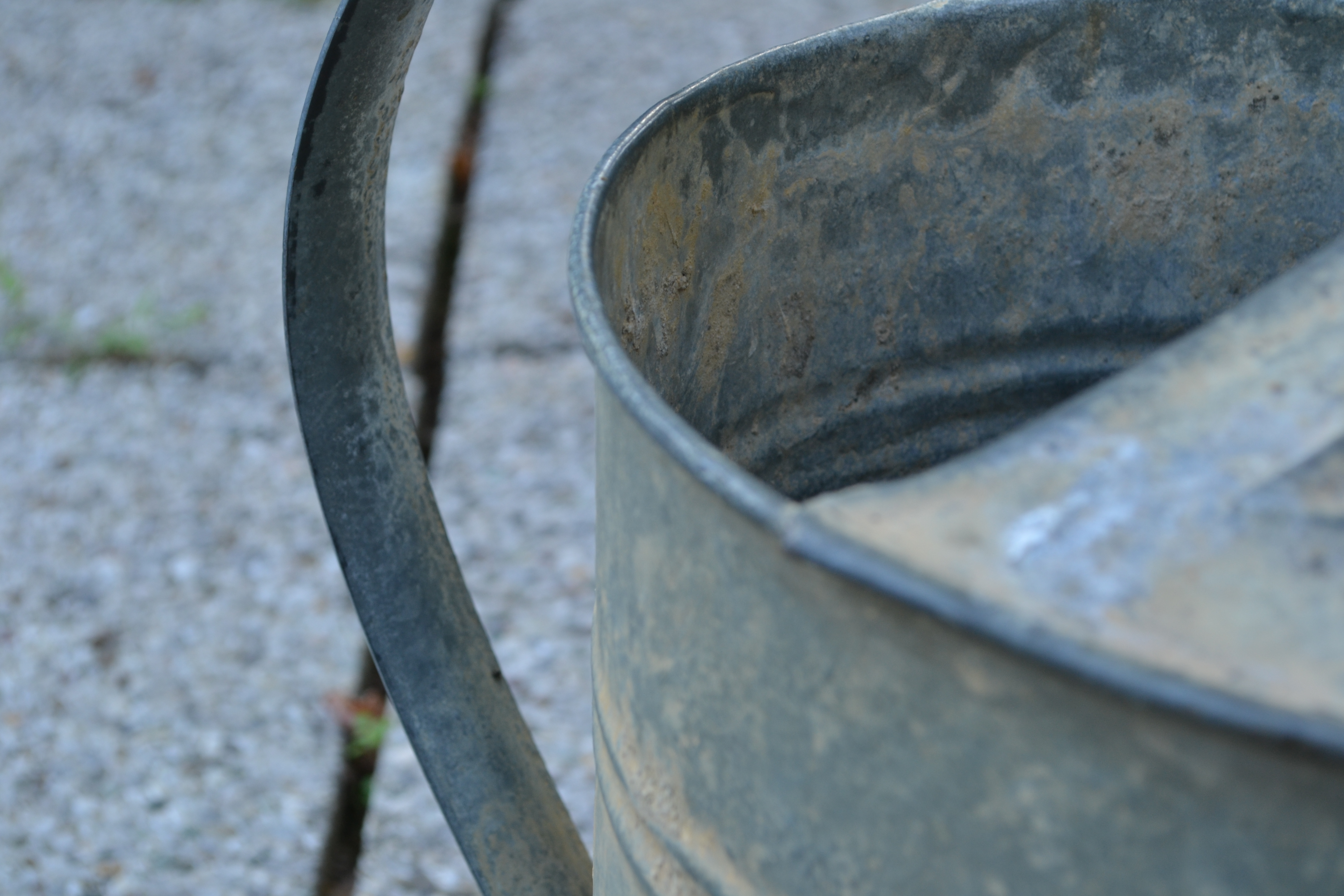 Watering can detail photo