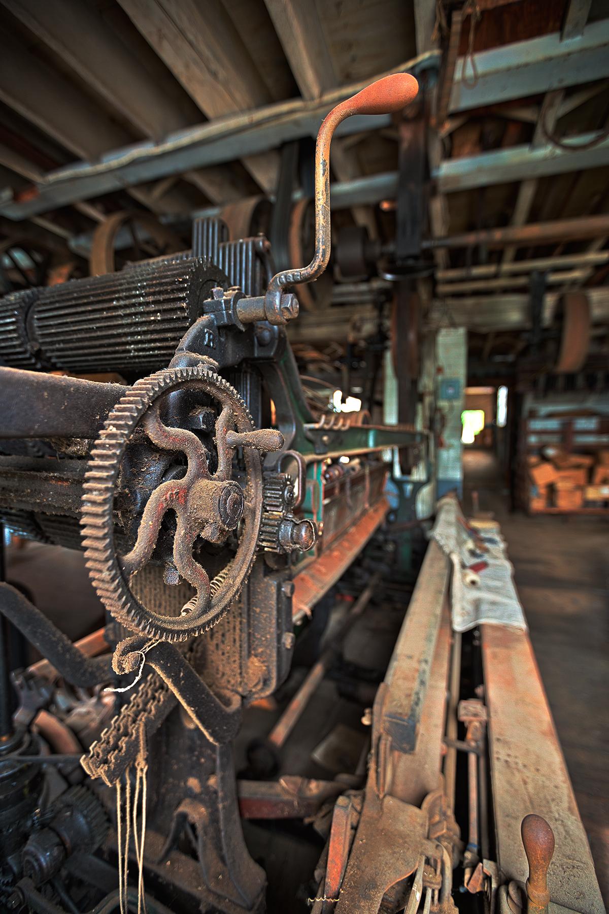 Waterside woolen mill - hdr photo