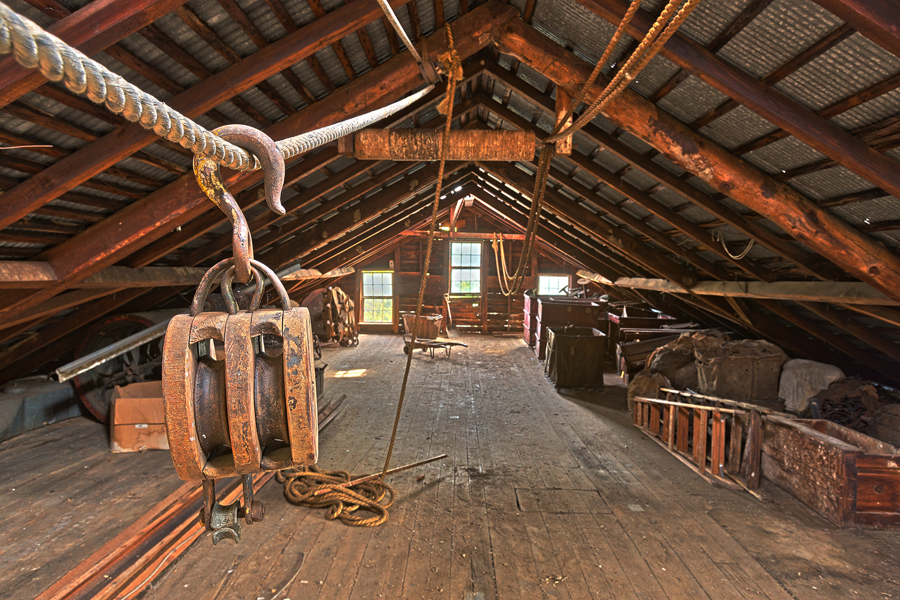 Waterside woolen mill - hdr photo