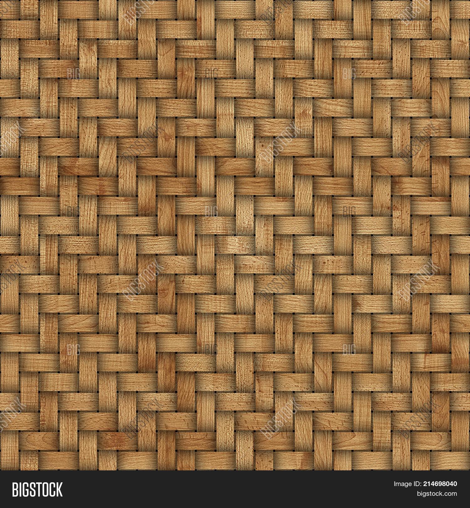 Wooden Weave Texture Background. Image & Photo | Bigstock