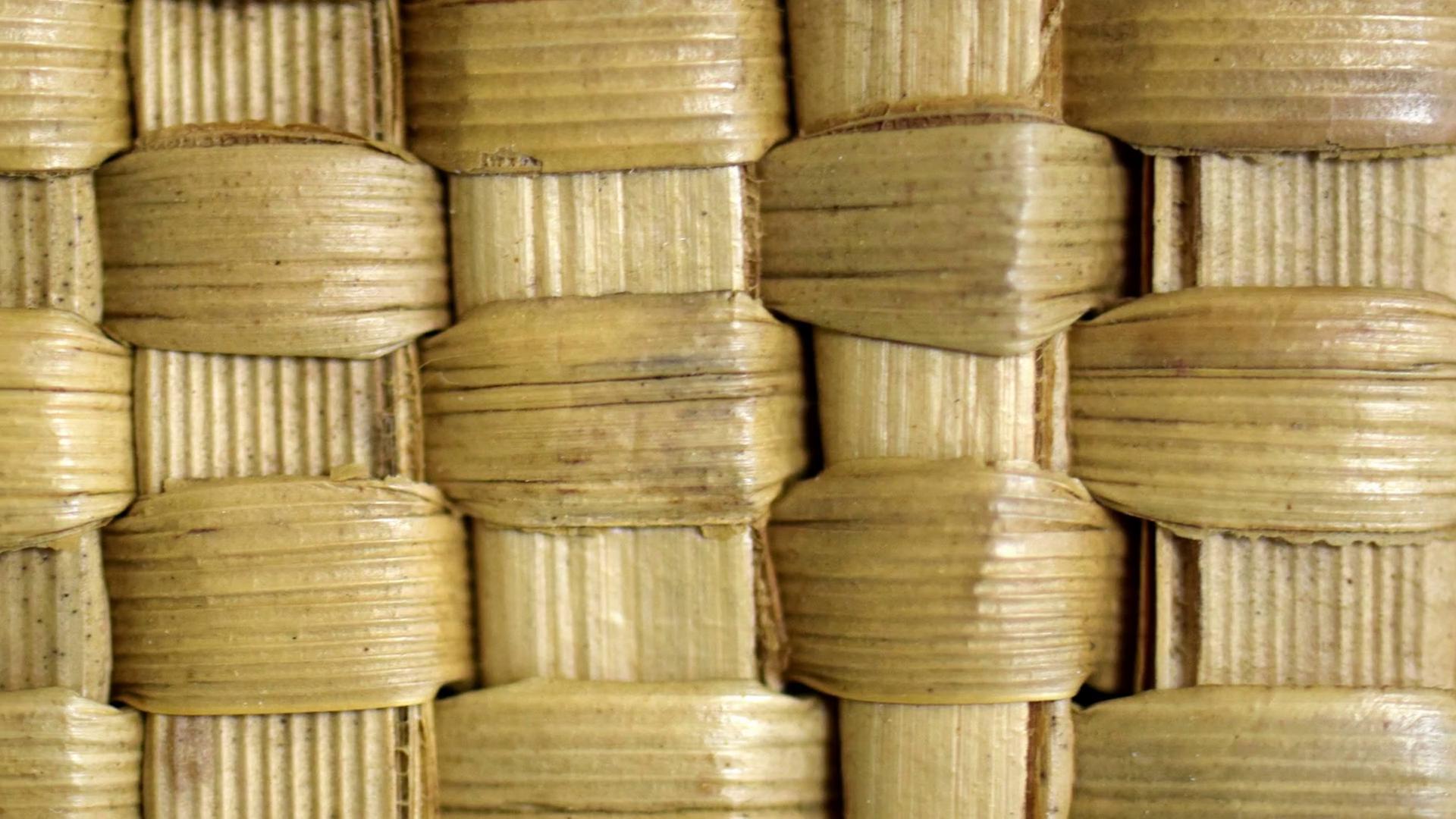 Basket Weave Close Up Texture 4K UHD Stock Video Footage - Videoblocks