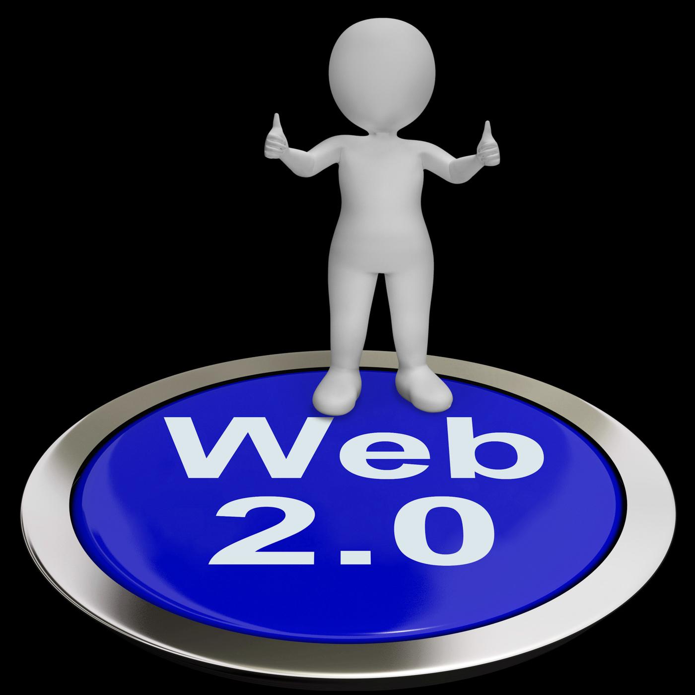 Web button means internet version or platform photo