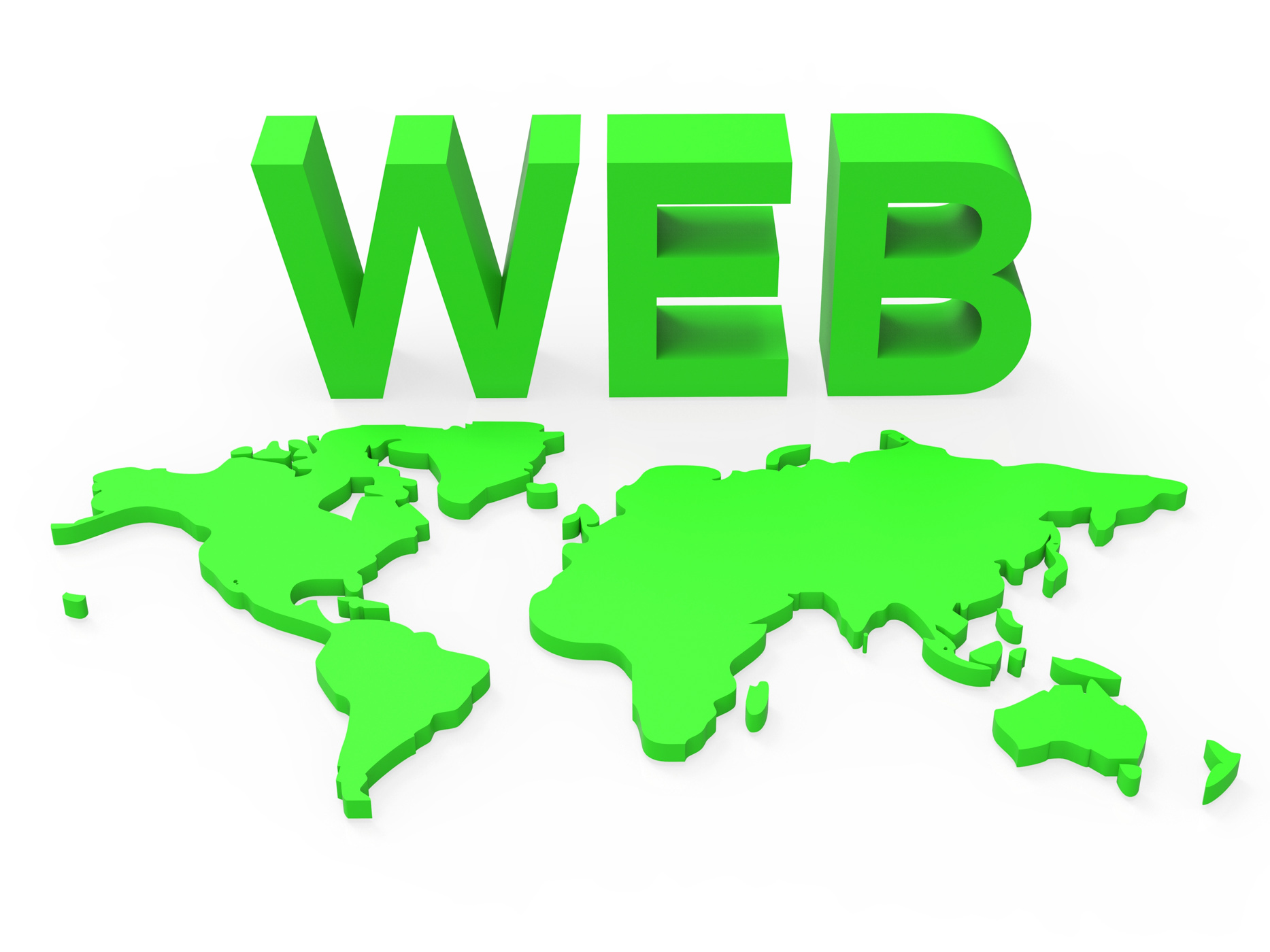 Web world represents globalisation www and website photo