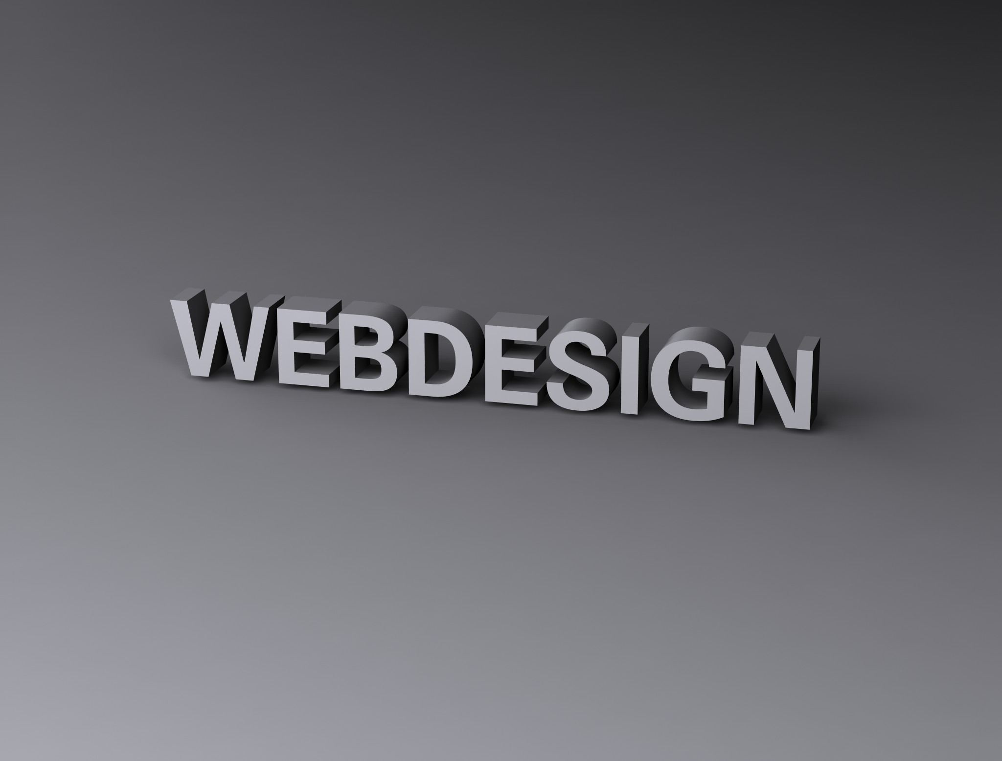 Webdesign, 3d, Render, Text, Typography, HQ Photo