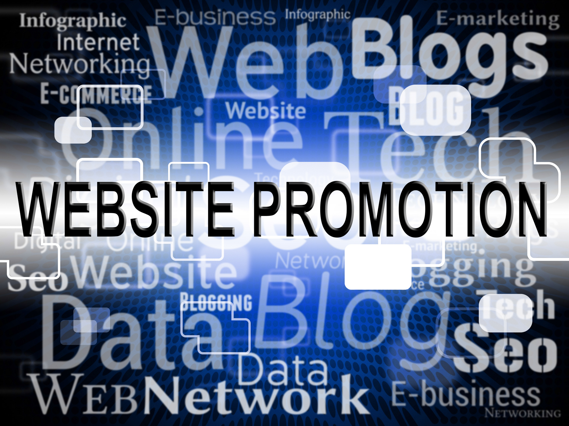 Website promotion represents sites www and closeout photo