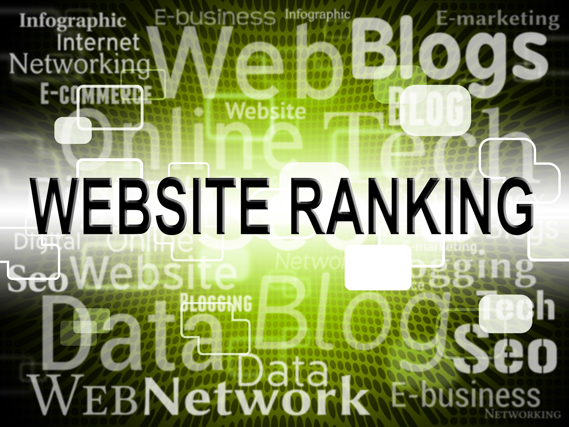 Website ranking shows search engine and internet photo