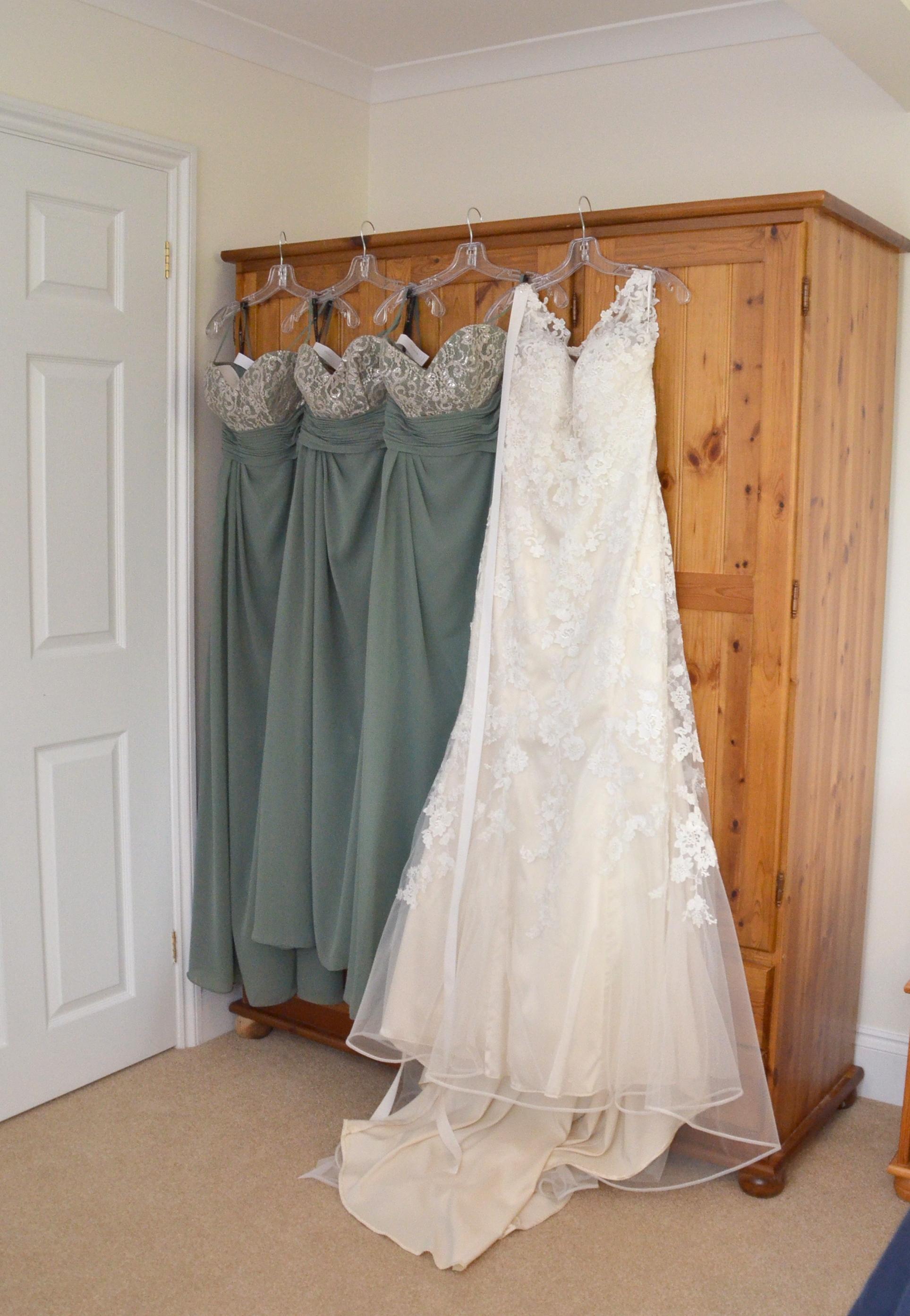 Wedding and Bridesmaids Dresses, Celebration, Clothes, Dress, Dresses, HQ Photo