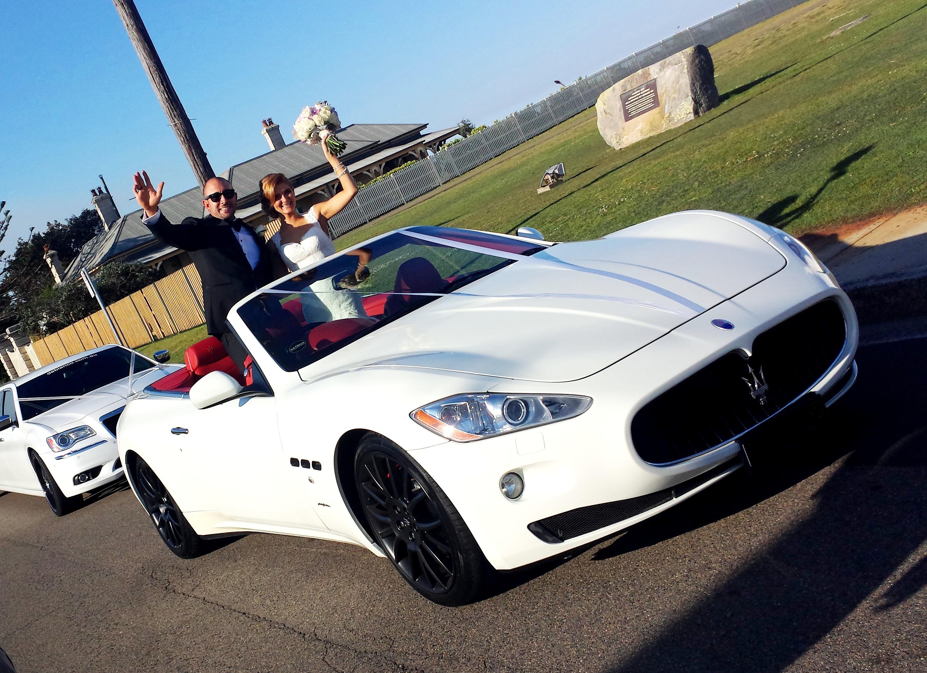 Mercedes / Maserati Wedding Cars | Deblanco