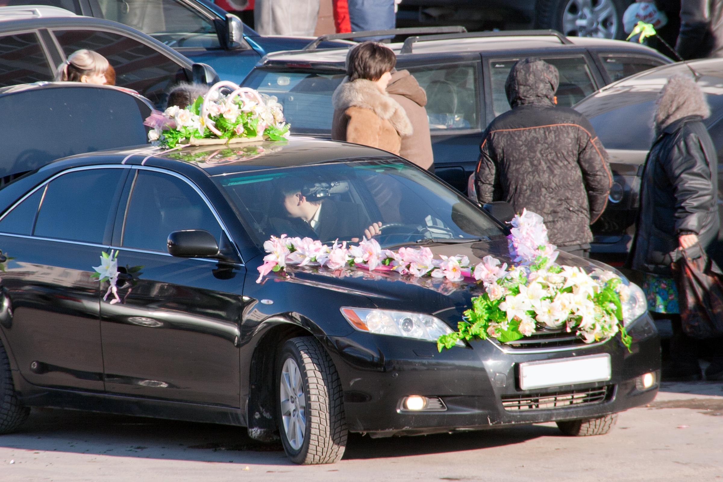 wedding car, Decoration, Ufa, Traditional, Marriage, HQ Photo