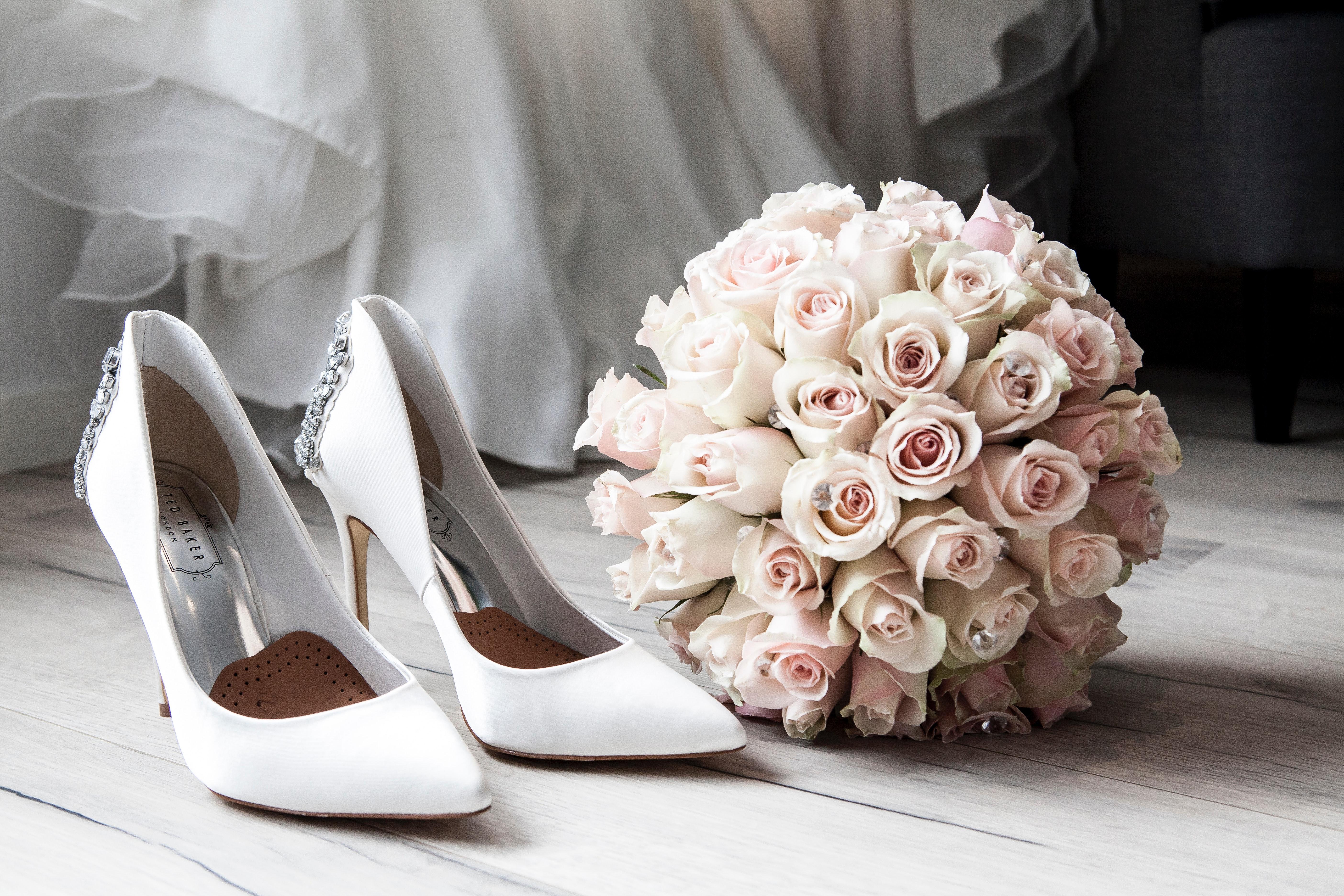 Wedding preparation photo