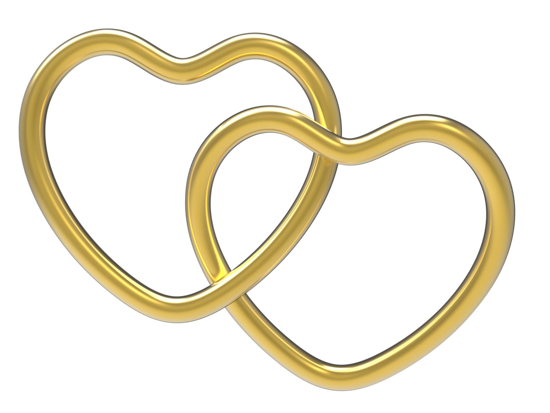 Wedding rings indicates valentine day and eternity photo