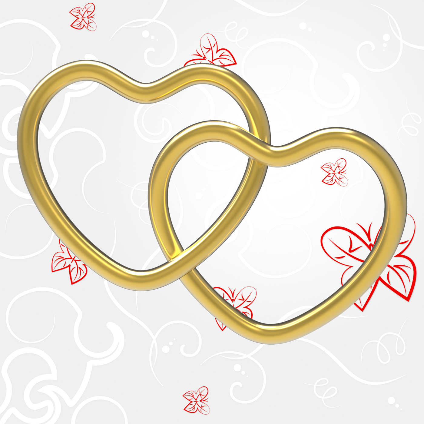 Wedding rings indicates valentines day and couple photo