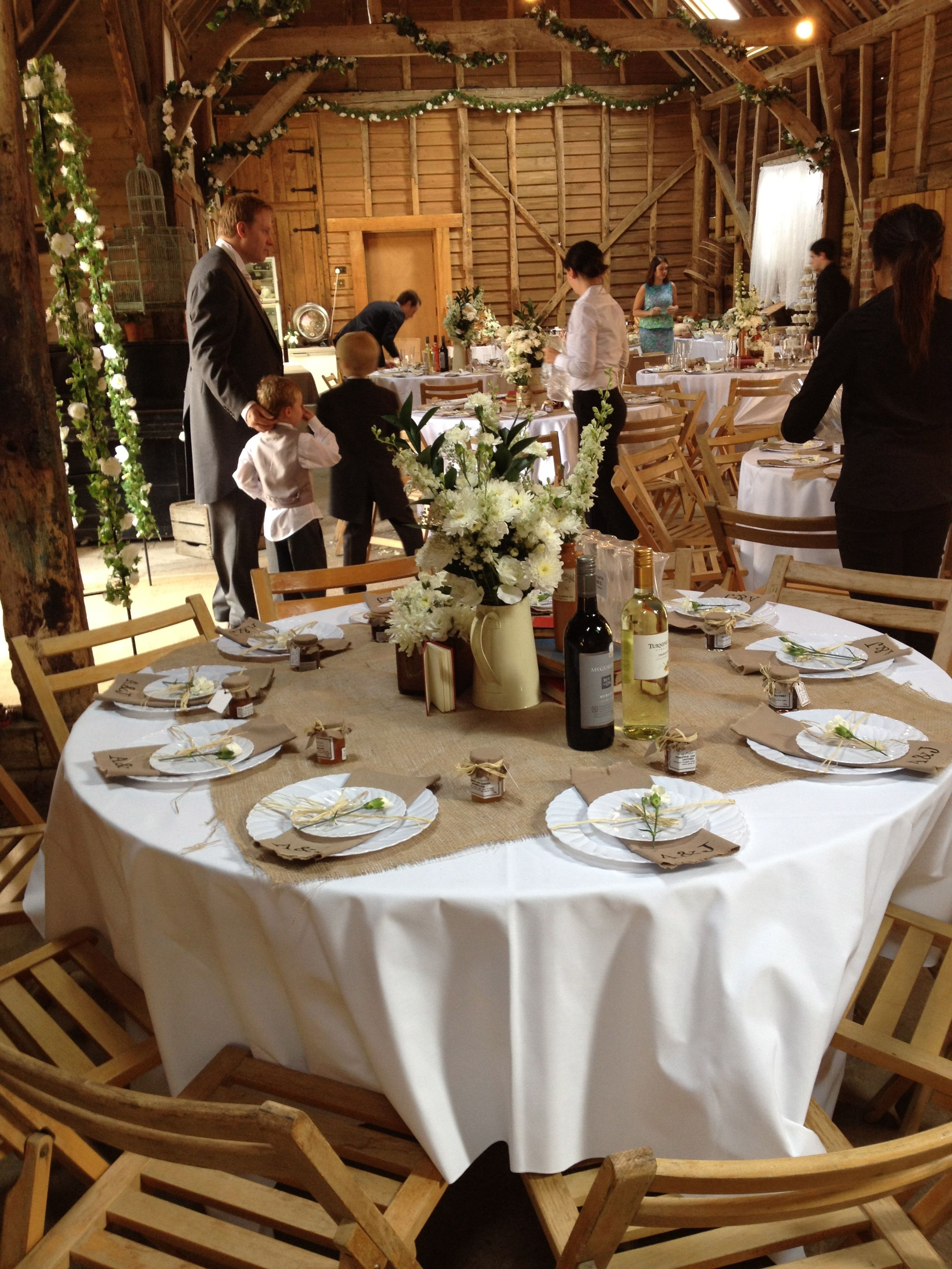 Rustic Wedding Table Decor | Wedding | Pinterest | Wedding tables ...