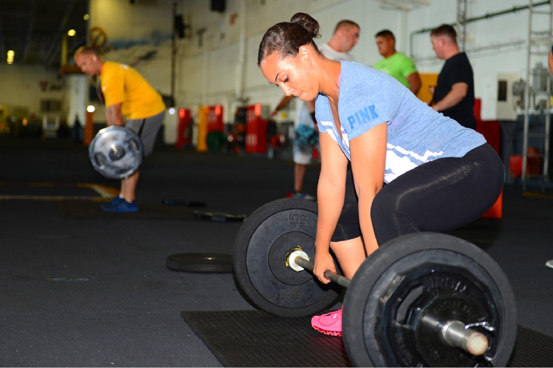 Weight lifting photo