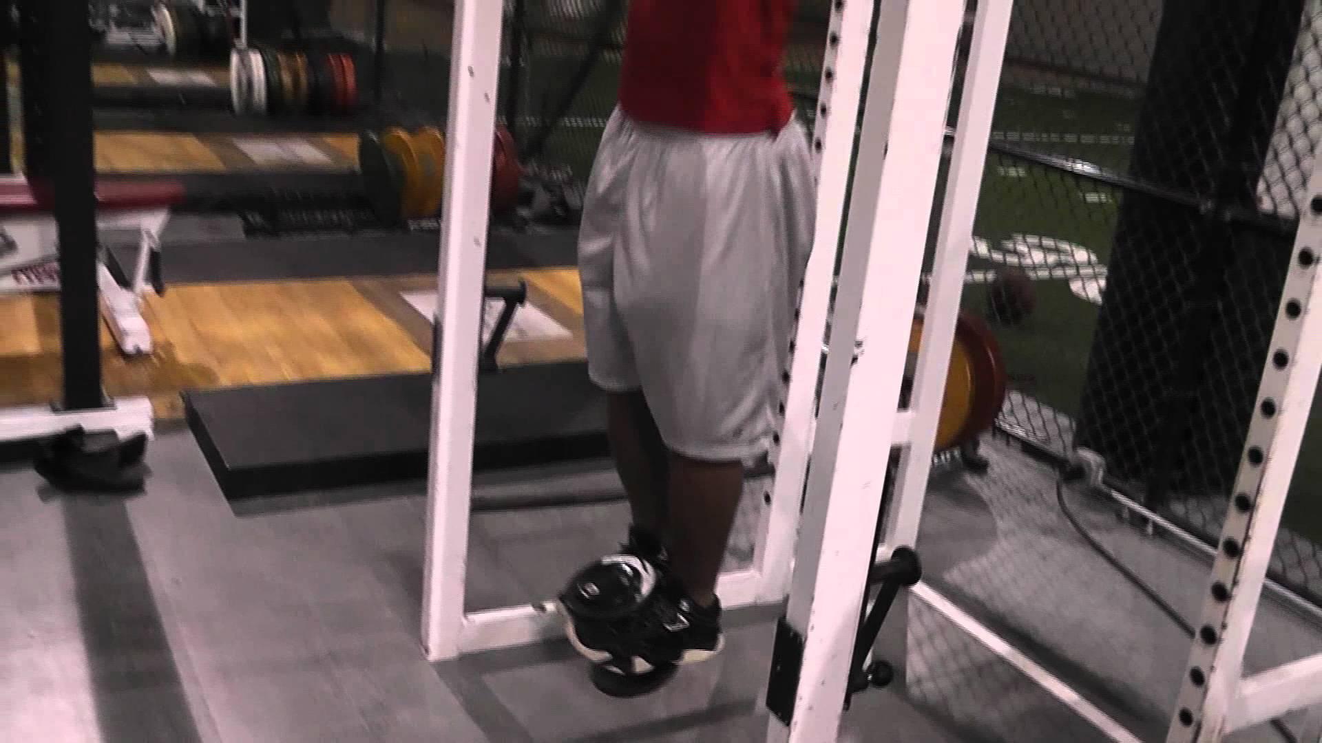 Hanging Leg raises, Weighted - YouTube
