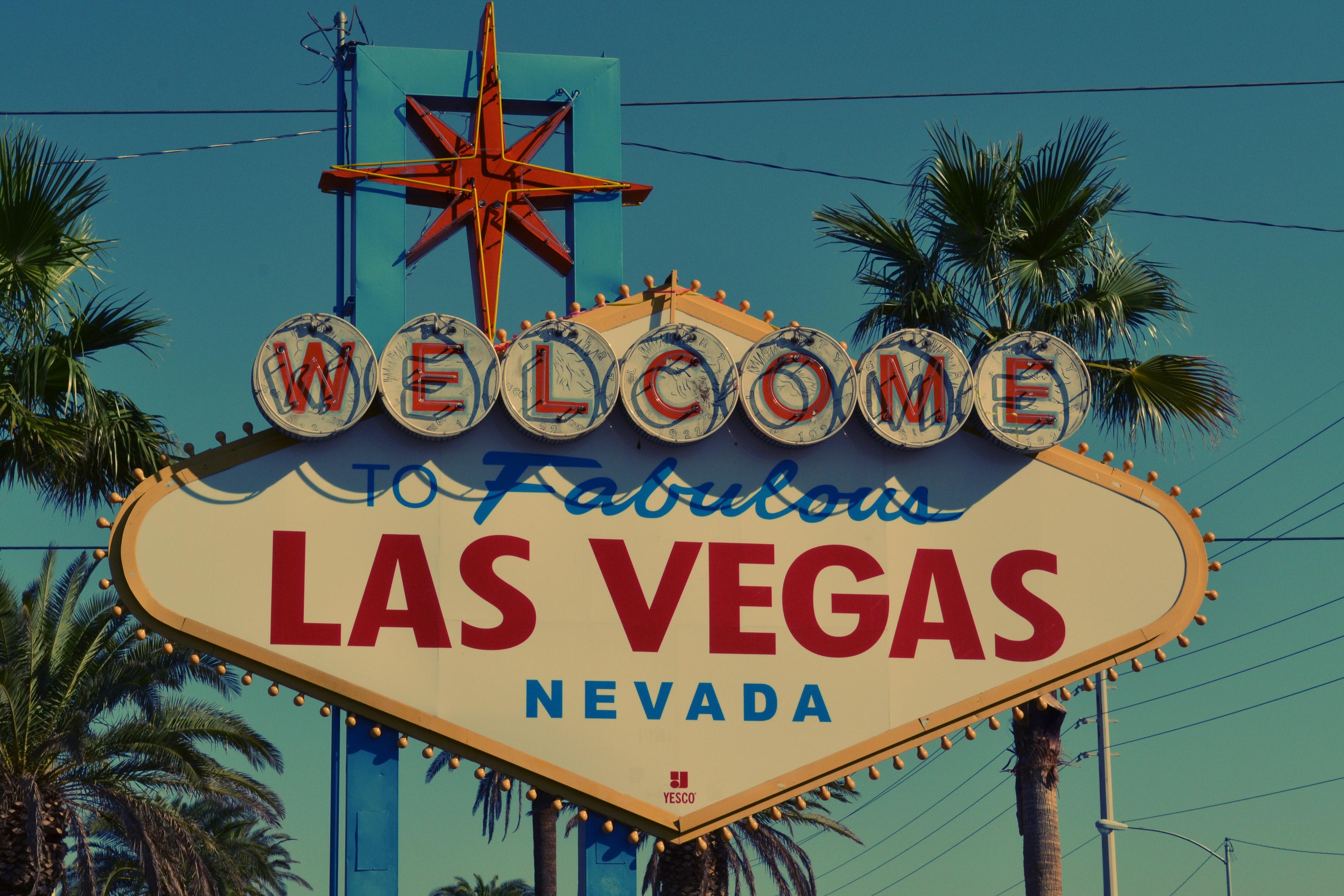 Welcome to Fabulous Las Vegas Nevada Signage, Destination, Landmark, Las Vegas, Neon sign, HQ Photo