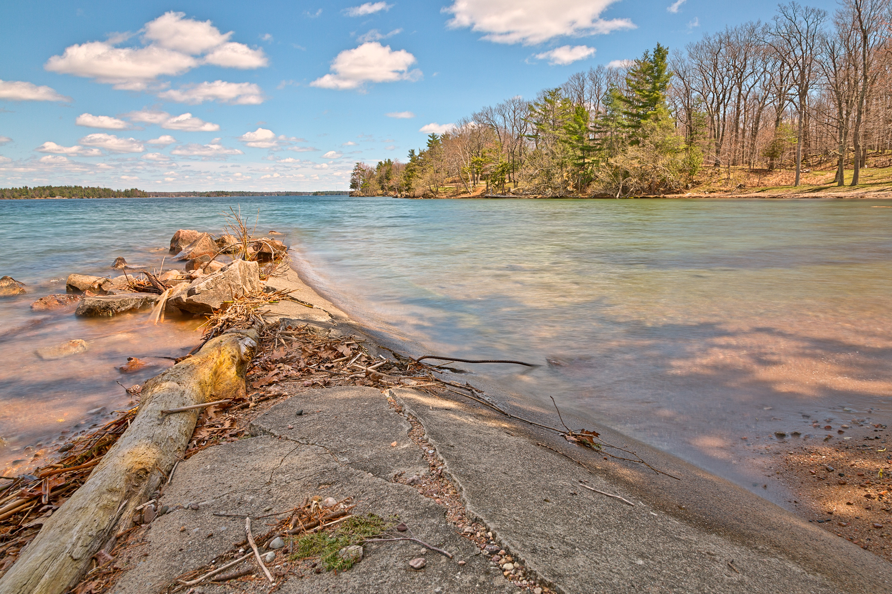 Wellesley island state park - hdr photo