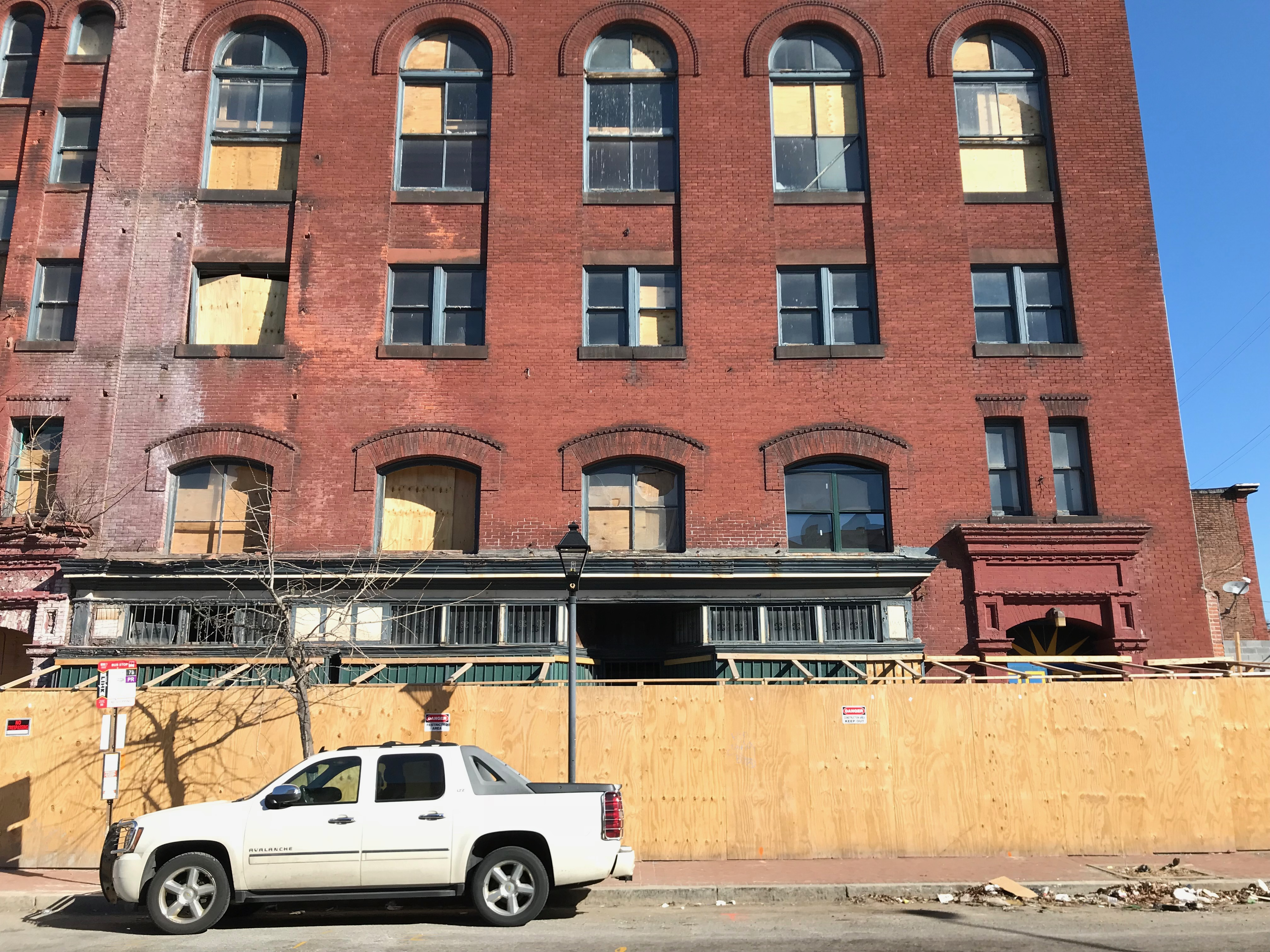 West branch y.m.c.a. building/moore institute (1894; john f. adams, contractor), 1-3 n. carey street, baltimore, md 21223 photo