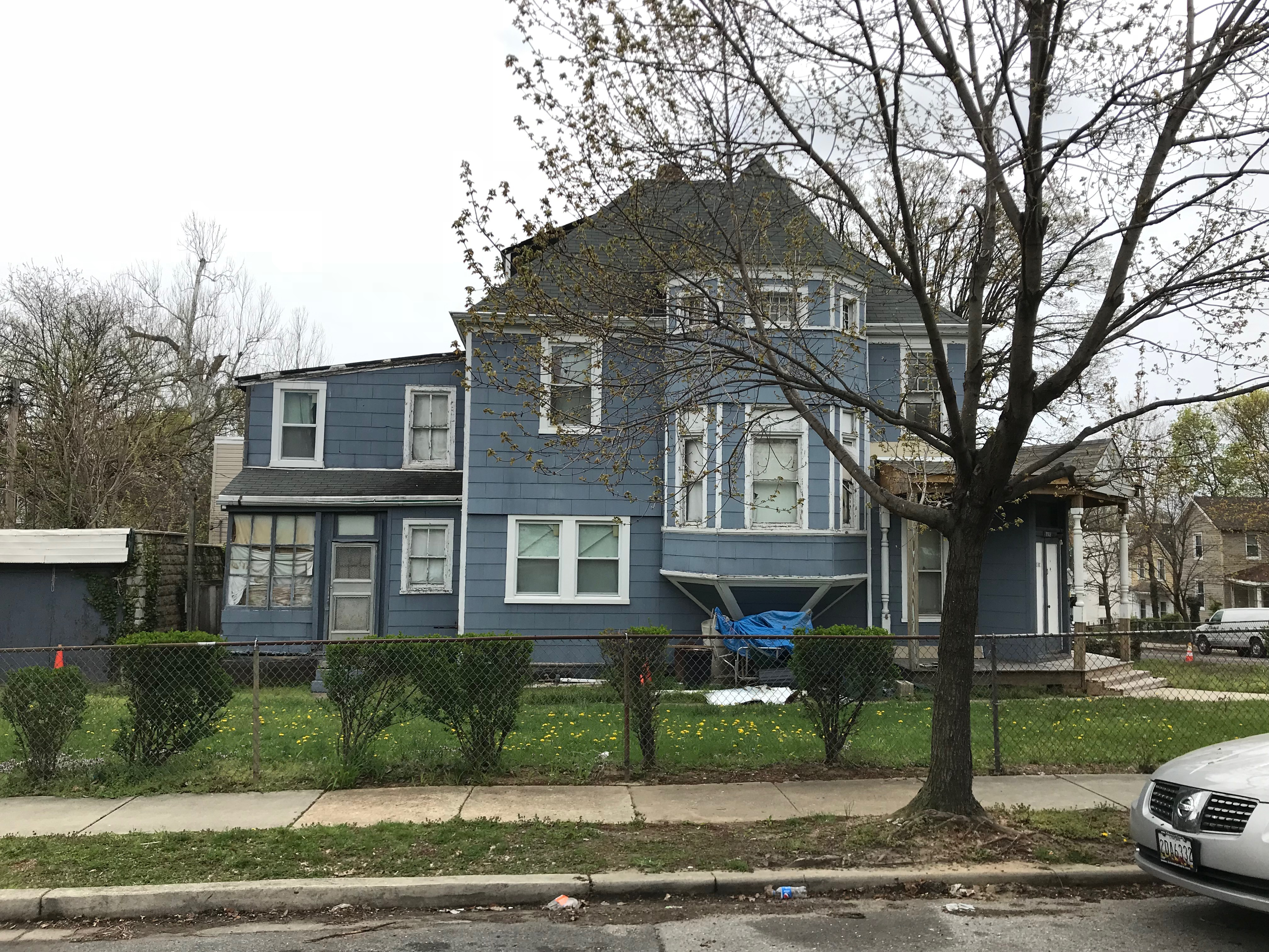 West elevation, house, 702 gorsuch avenue, baltimore, md 21218 photo