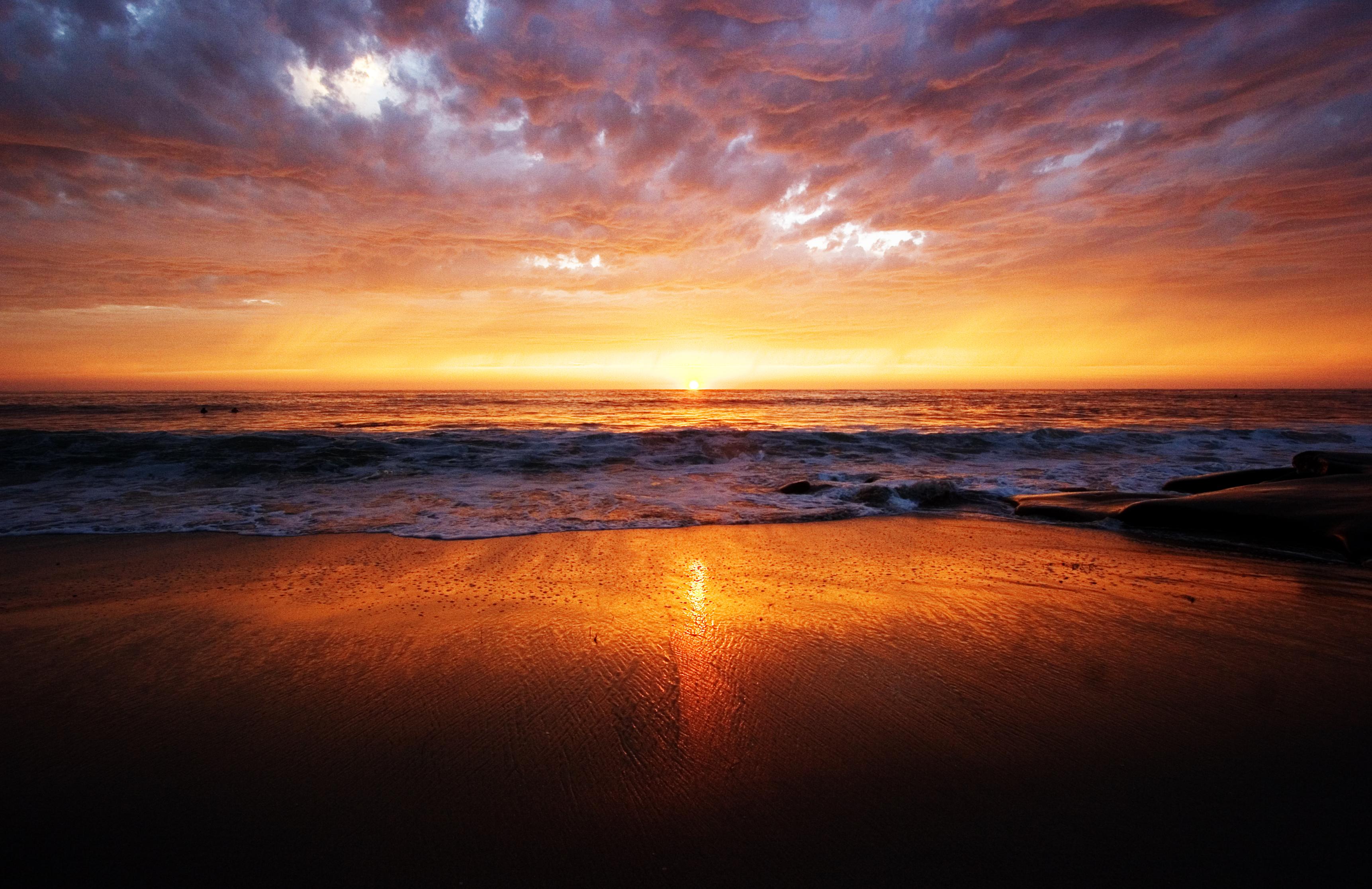 Westcoast sunset photo