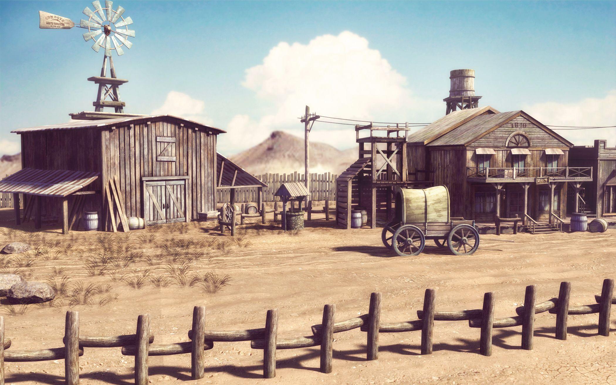 3d western scene - Google Search | Western Reference | Pinterest ...