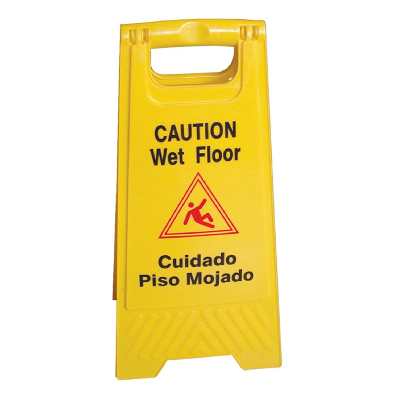 MRI Yellow Caution Wet Floor Sign - Magmedix Inc