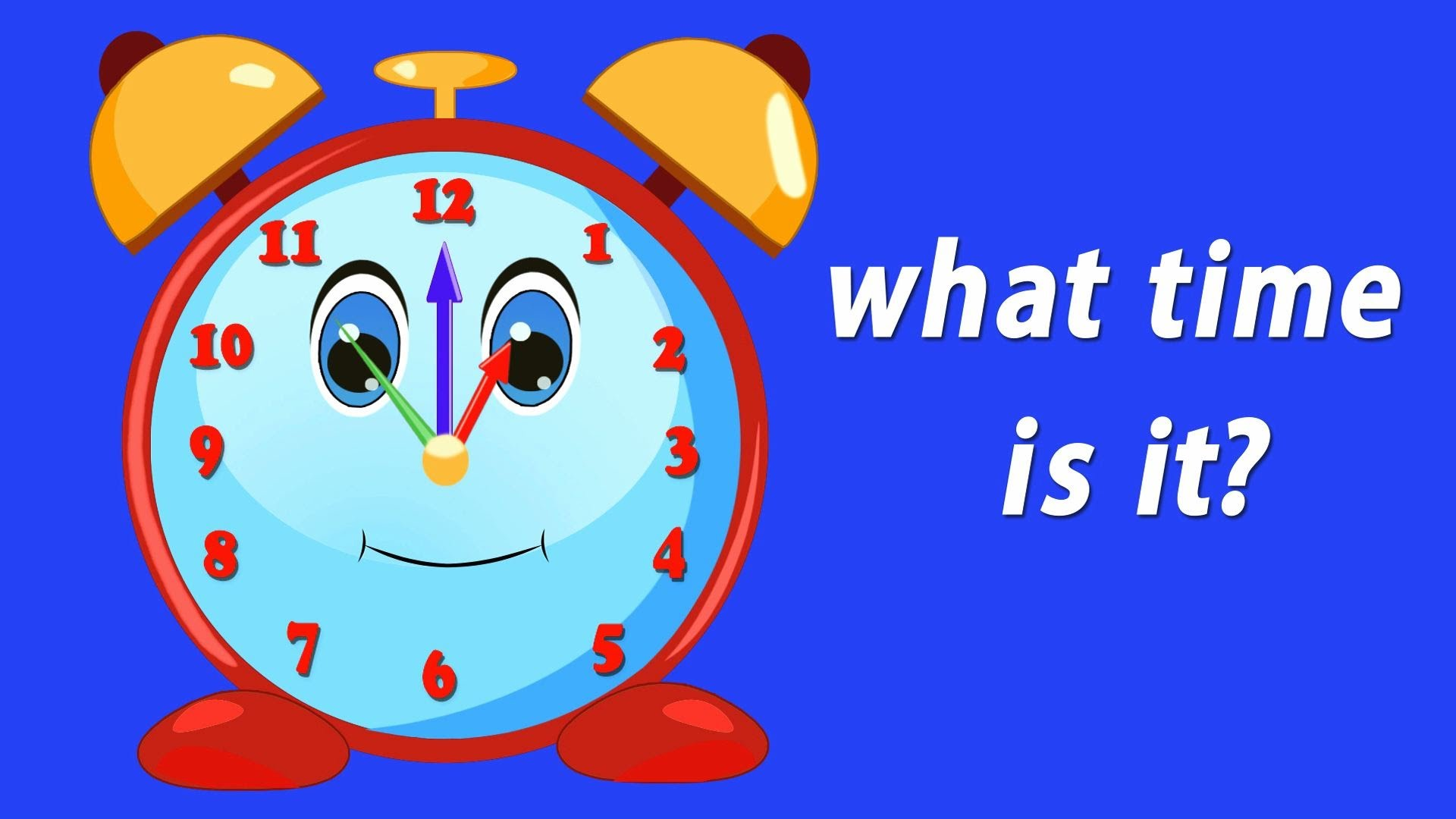 What's the Time? | Learning Videos For Toddlers | Video Helping ...