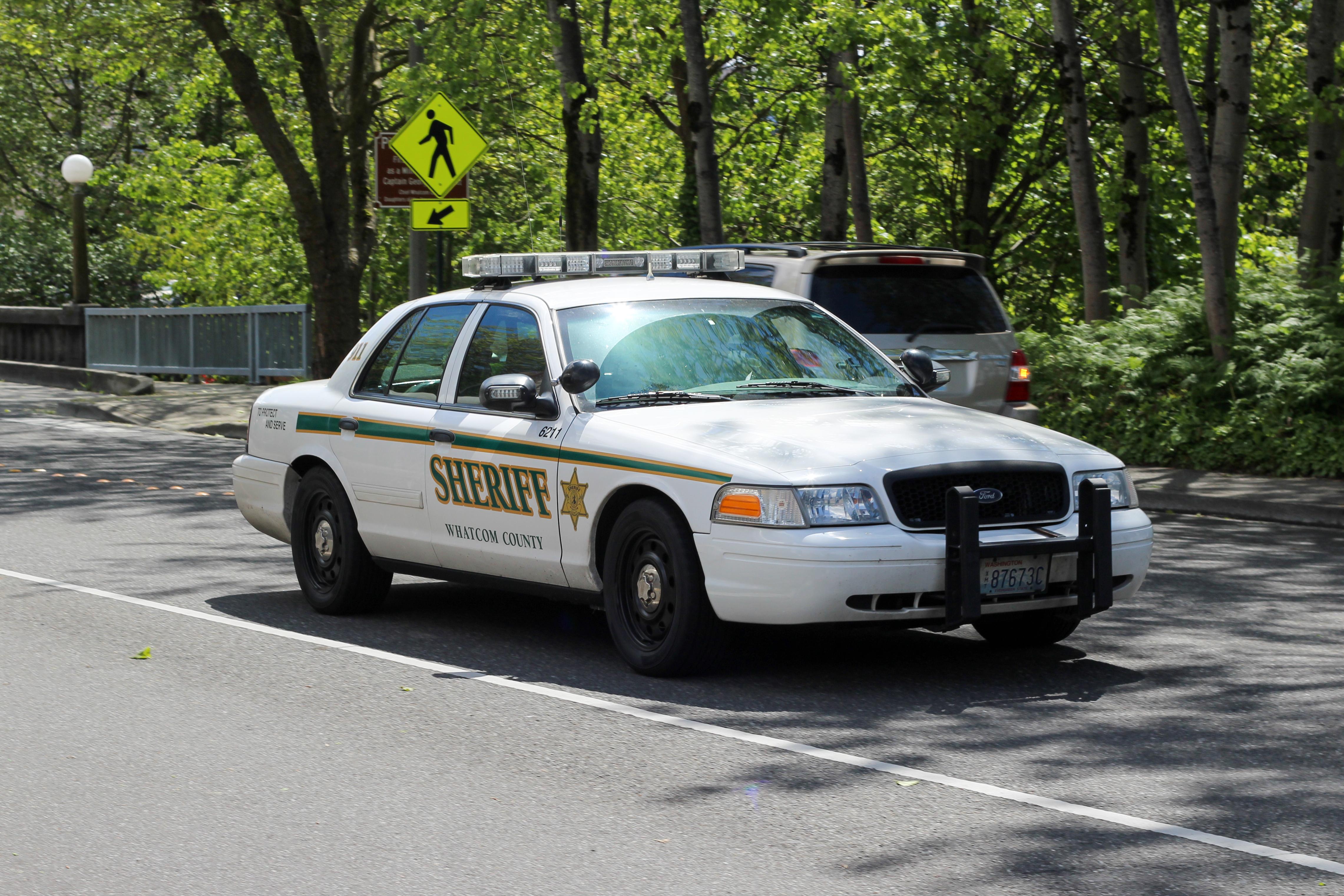 Whatcom County Sheriff (6211), Bellingham WA, Car, Outdoor, Police, HQ Photo