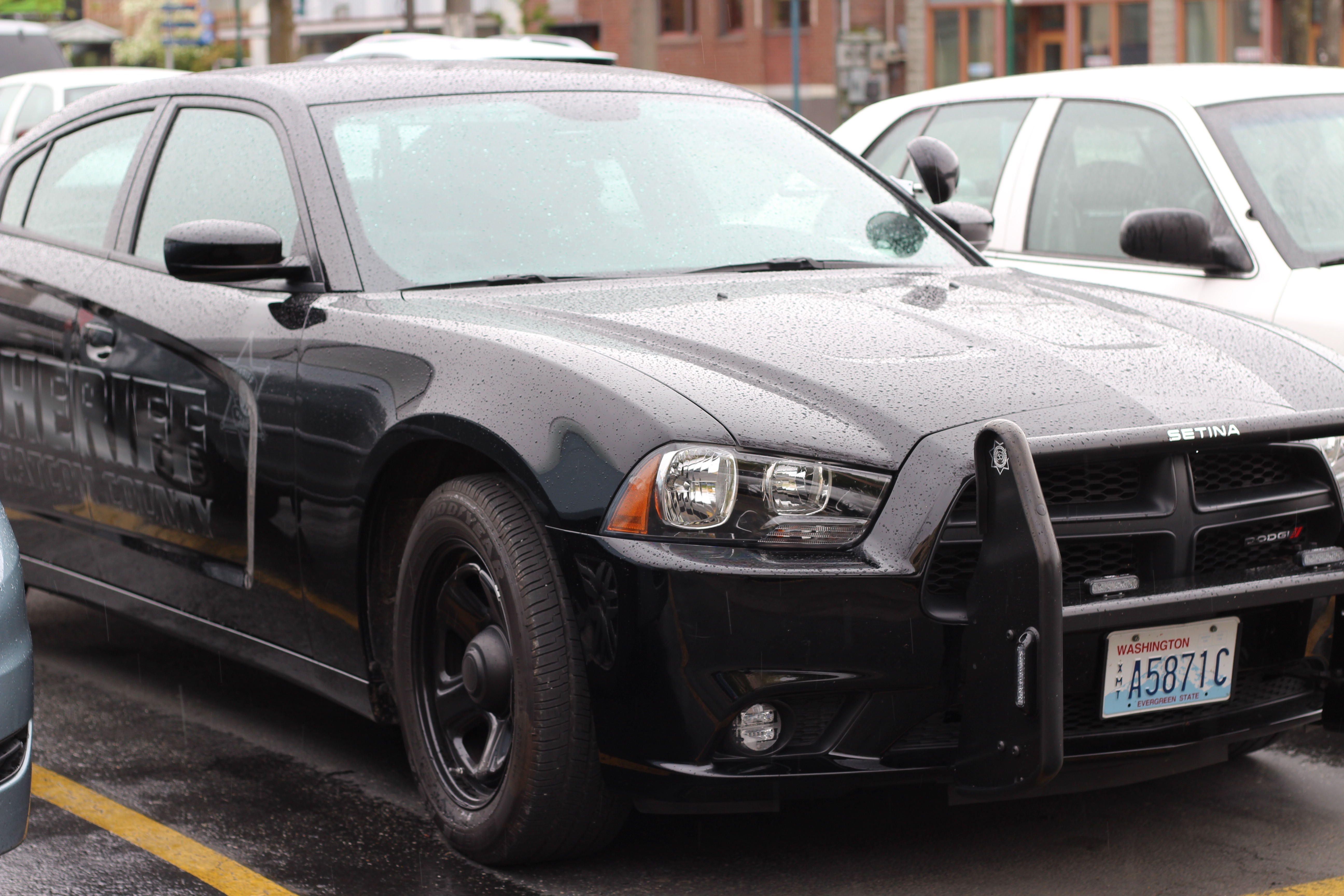 Whatcom County Sheriff's Office: Stealth Dodge Charger, Bellingham, Police car, Whatcom, Washington, HQ Photo