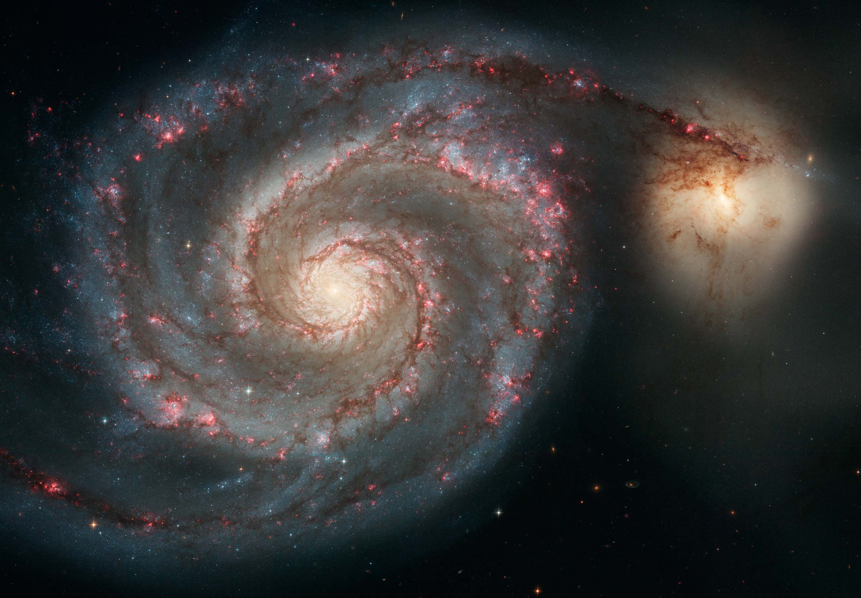Whirlpool galaxy photo
