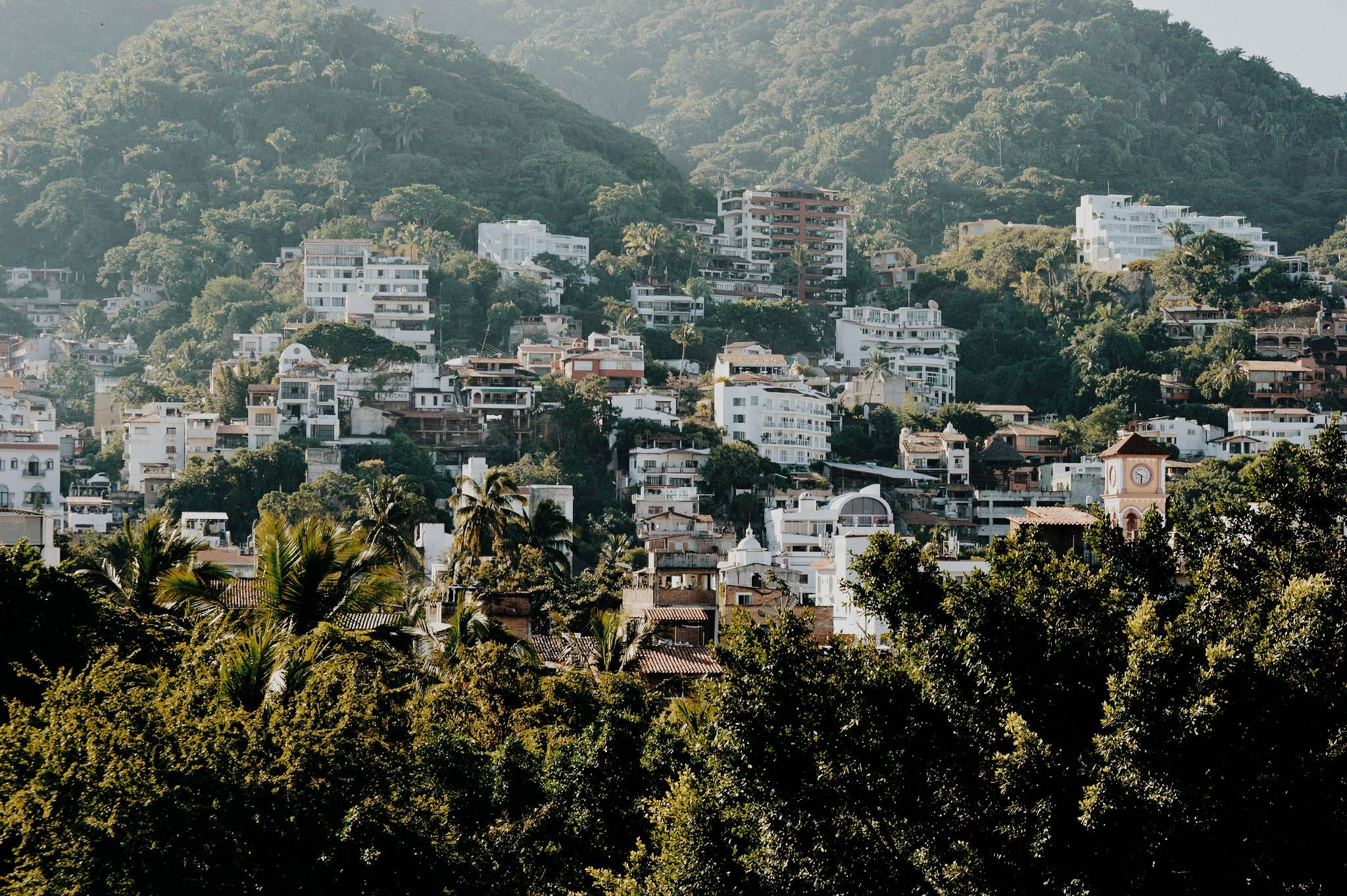 White and Brown Buildings on Mountain, Architecture, Buildings, City, Cityscape, HQ Photo