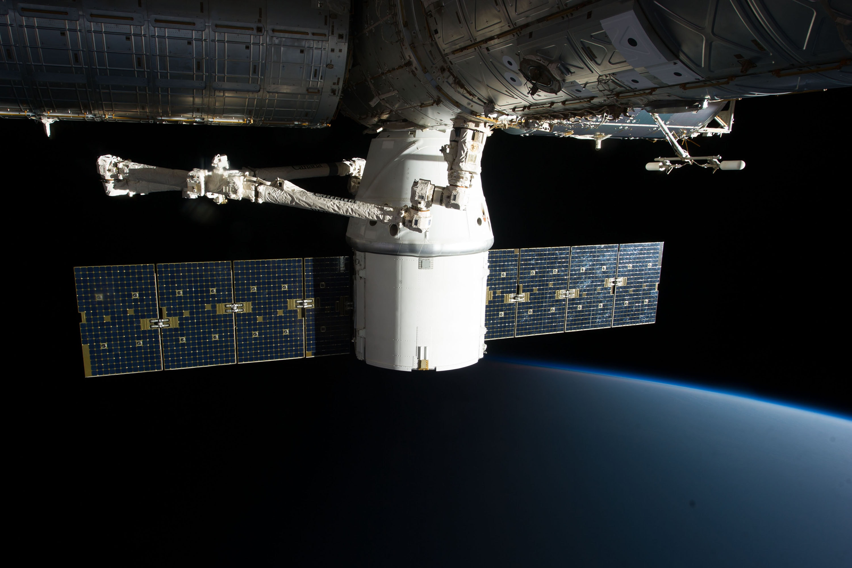 White and gray satellite photo