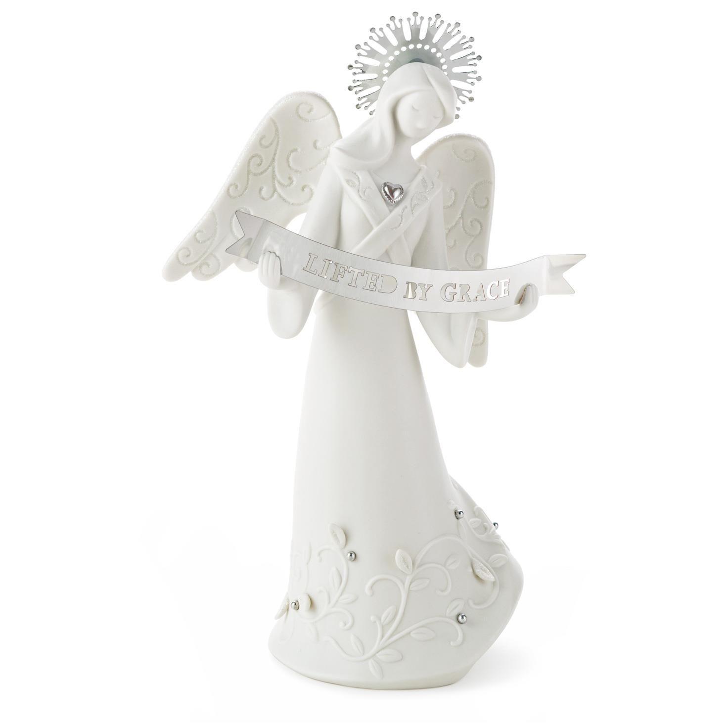 Lifted by Grace Angel Figurine - Figurines - Hallmark