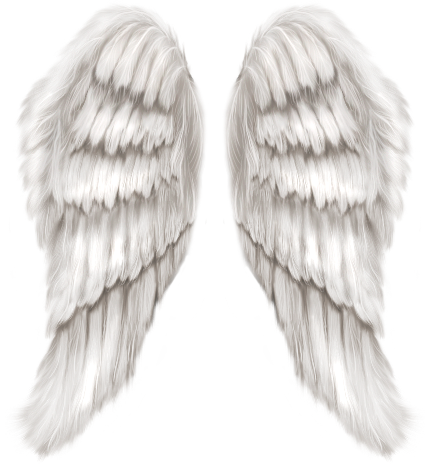 White Angel Wings Transparent PNG Clip Art Image | Gallery ...