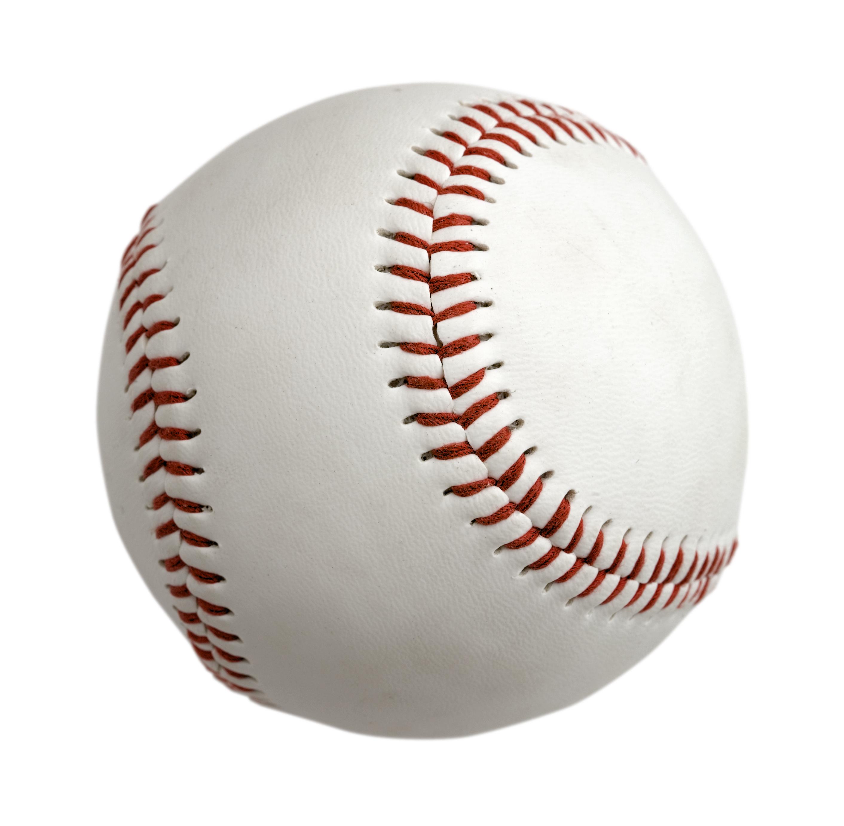 Baseball ball isolated on white background – 951 The Bull