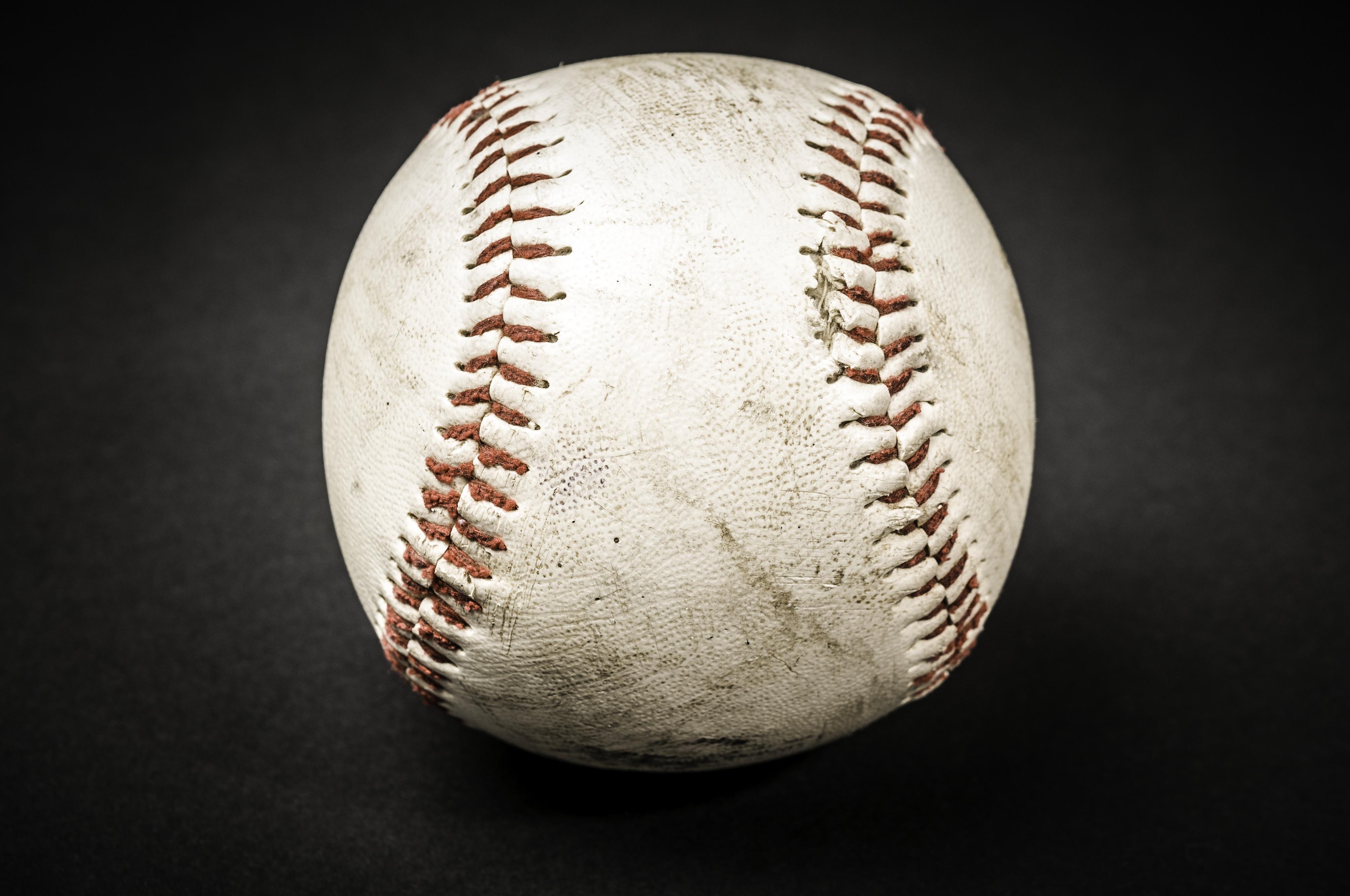White Baseball, White, Sports, Sport, Baseball, HQ Photo
