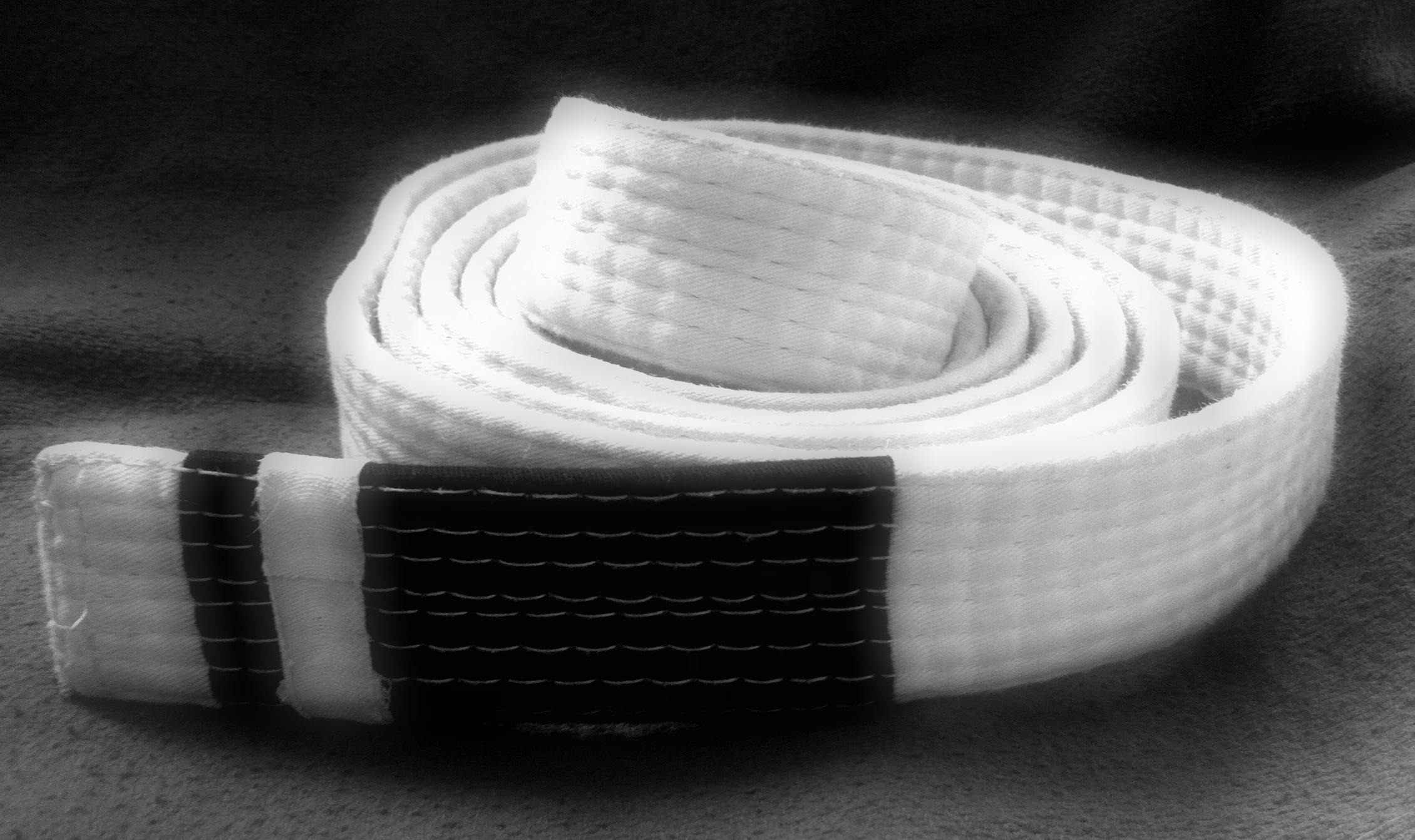 White belt photo