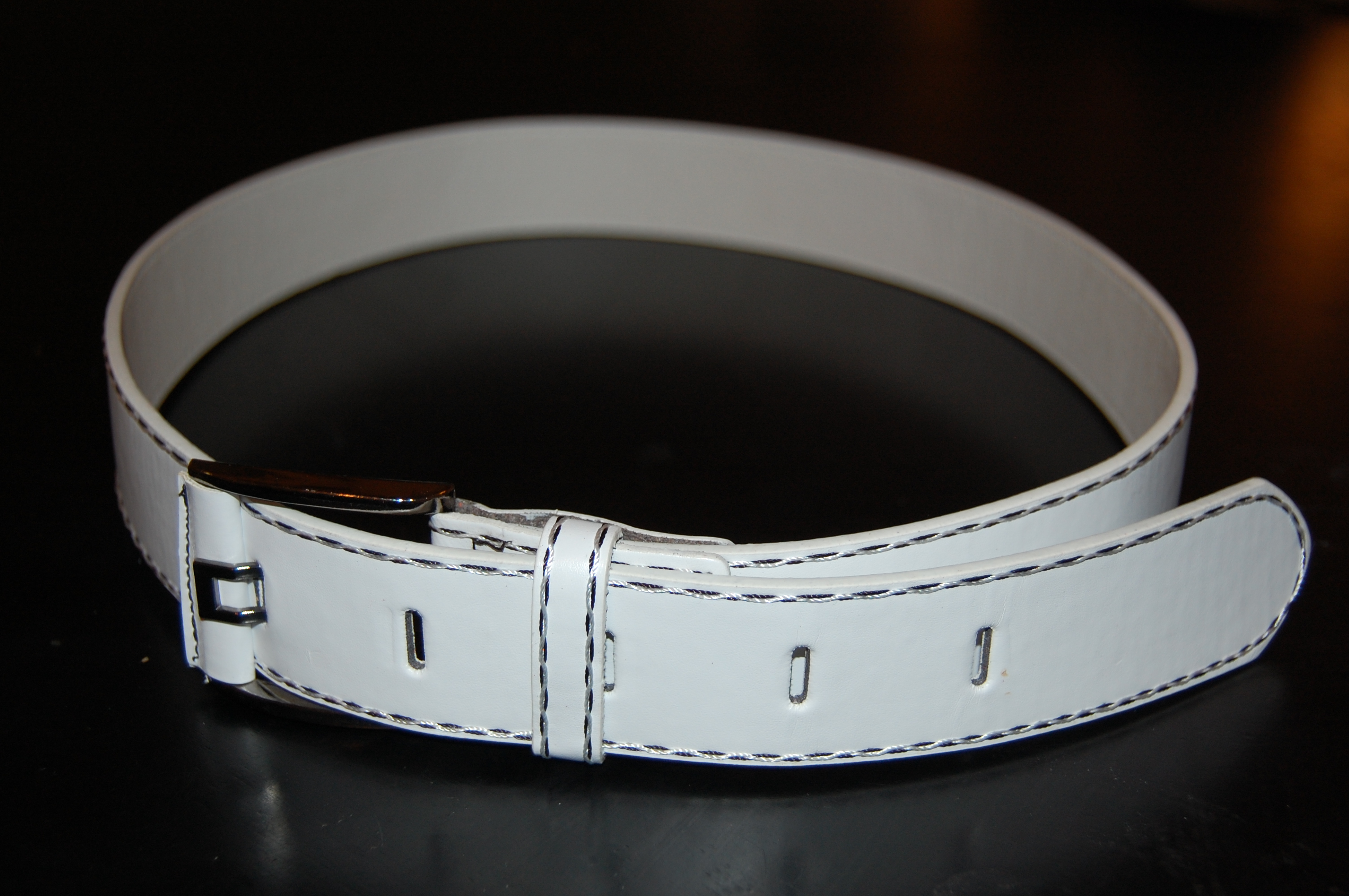 White Belt, Accessory, Belt, Clothes, Fabric, HQ Photo