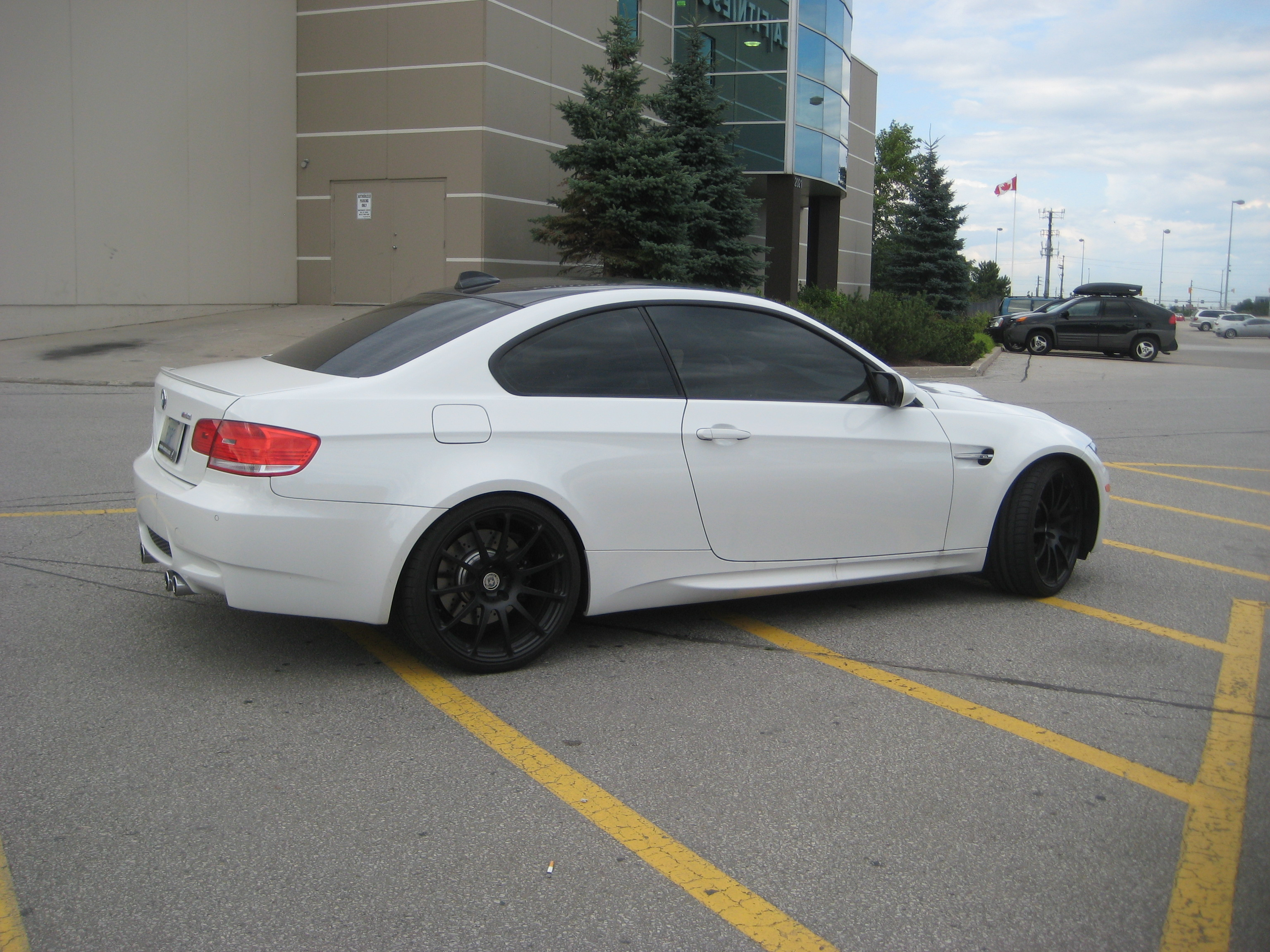 White BMW M3 Coupe with Black HRE rims - 5 | MadWhips