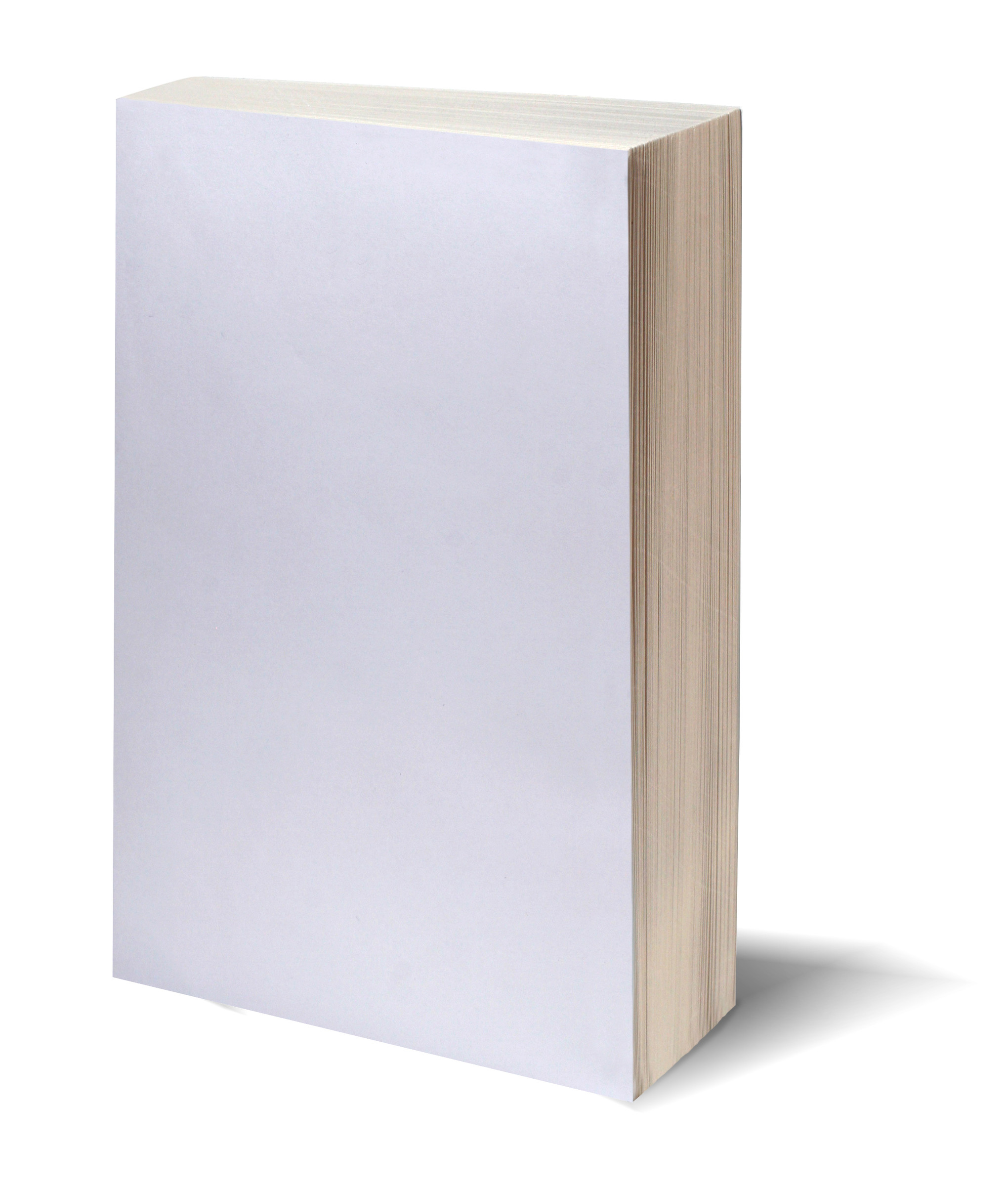 Blank white book w/path | Aishwin Vikhona